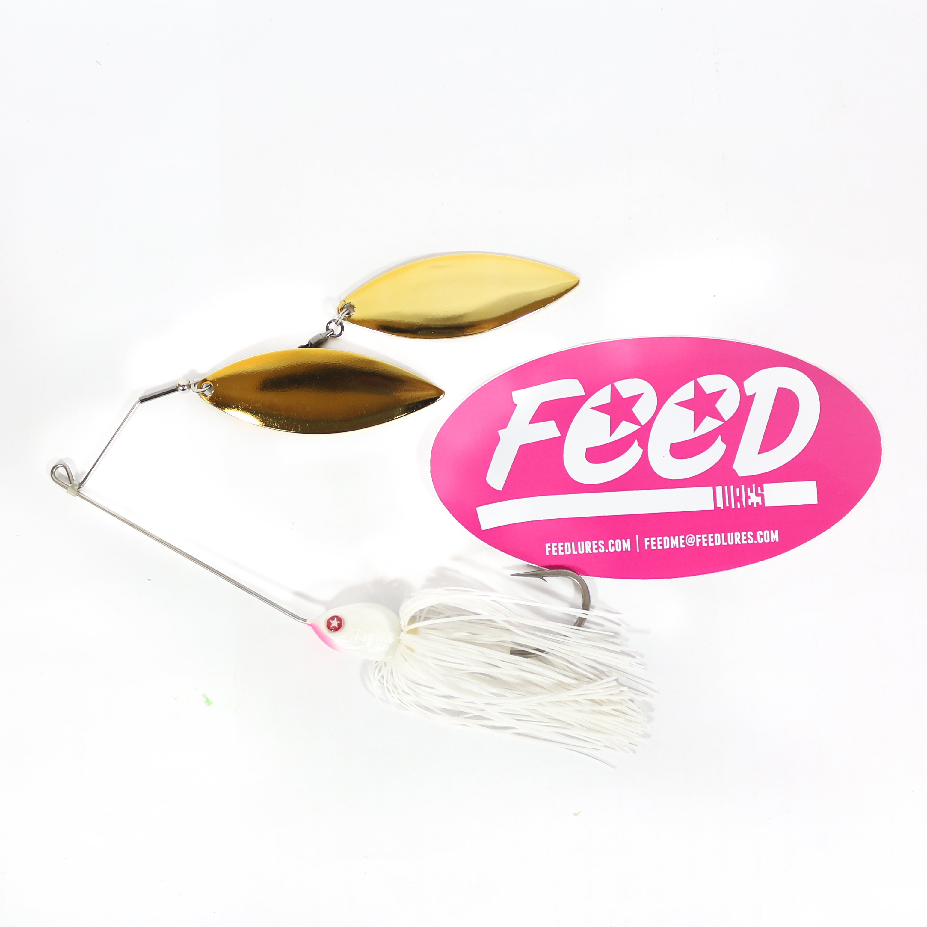 Feed Lures Blade 32 Spinnerbait 32 grams Lure B7 (2007)