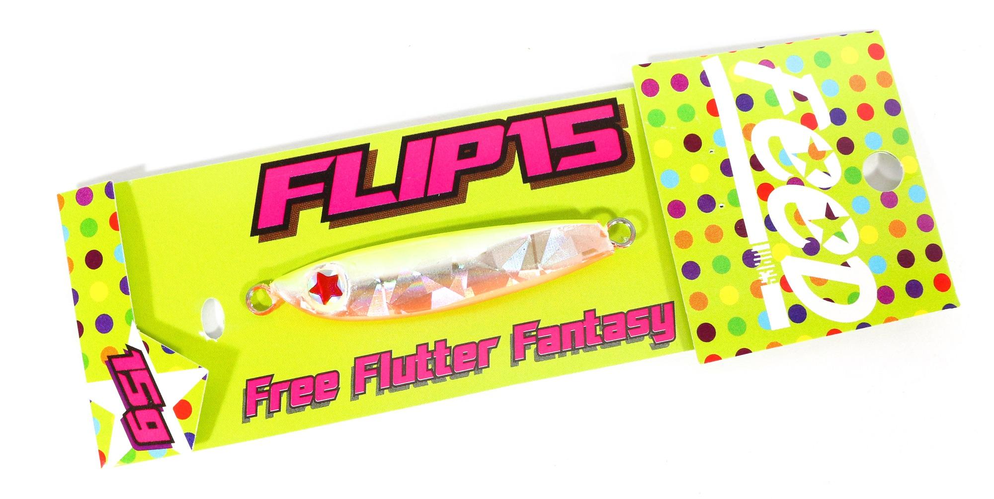 Feed Lures Metal Jig Flip 15 grams 105 (6105)