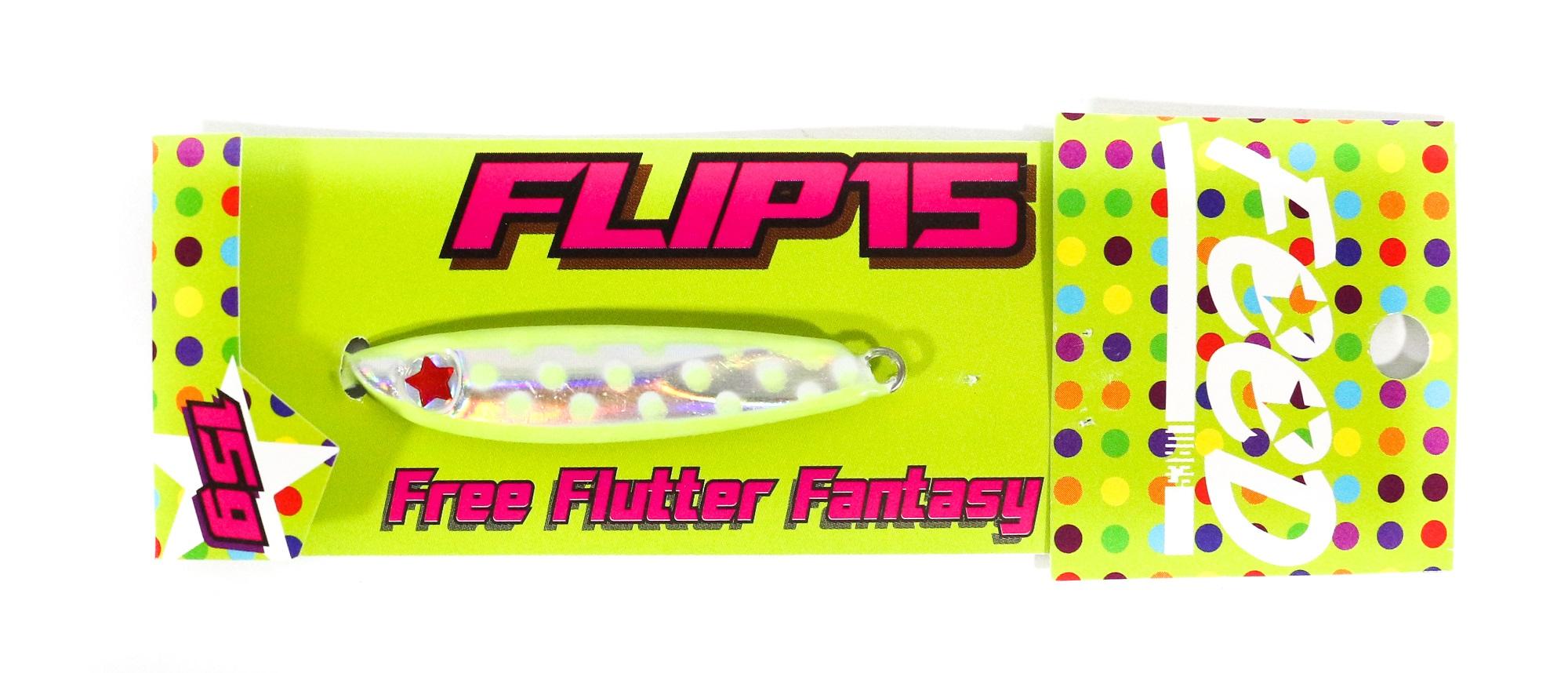 Feed Lures Metal Jig Flip 15 grams 111 (6111)