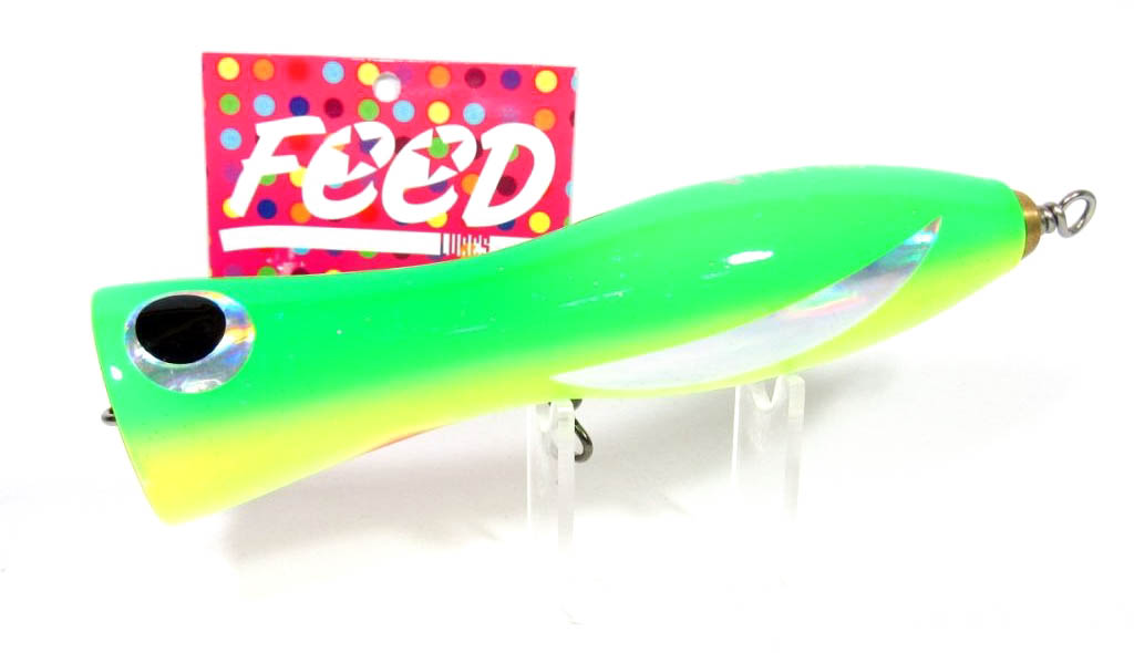 Feed Lures Pin 40 Hand Made Wood Popper Floating Lure 40 grams 22 (9022)