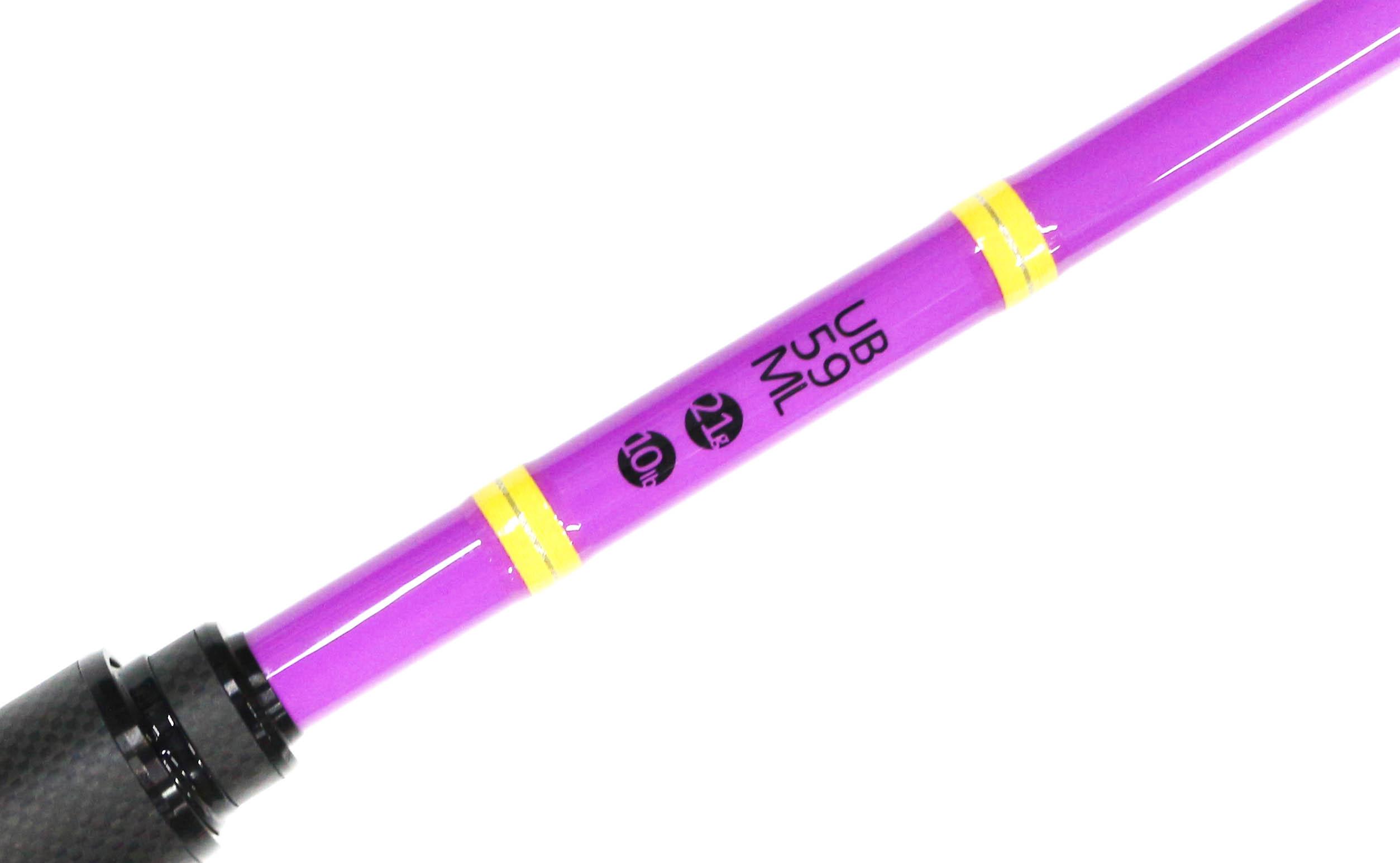 Feed Lures Rod Baitcast UB-59ML 10 lb 21 grams (0155)