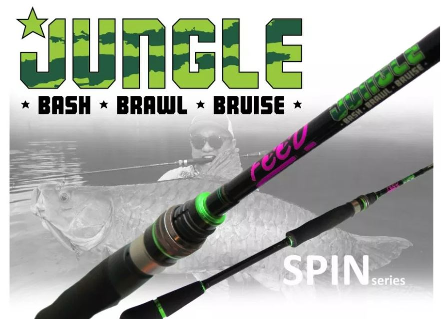Feed Lures Rod Spinning Jungle Bash JBS-66 XH P.E 4 Max (0057)