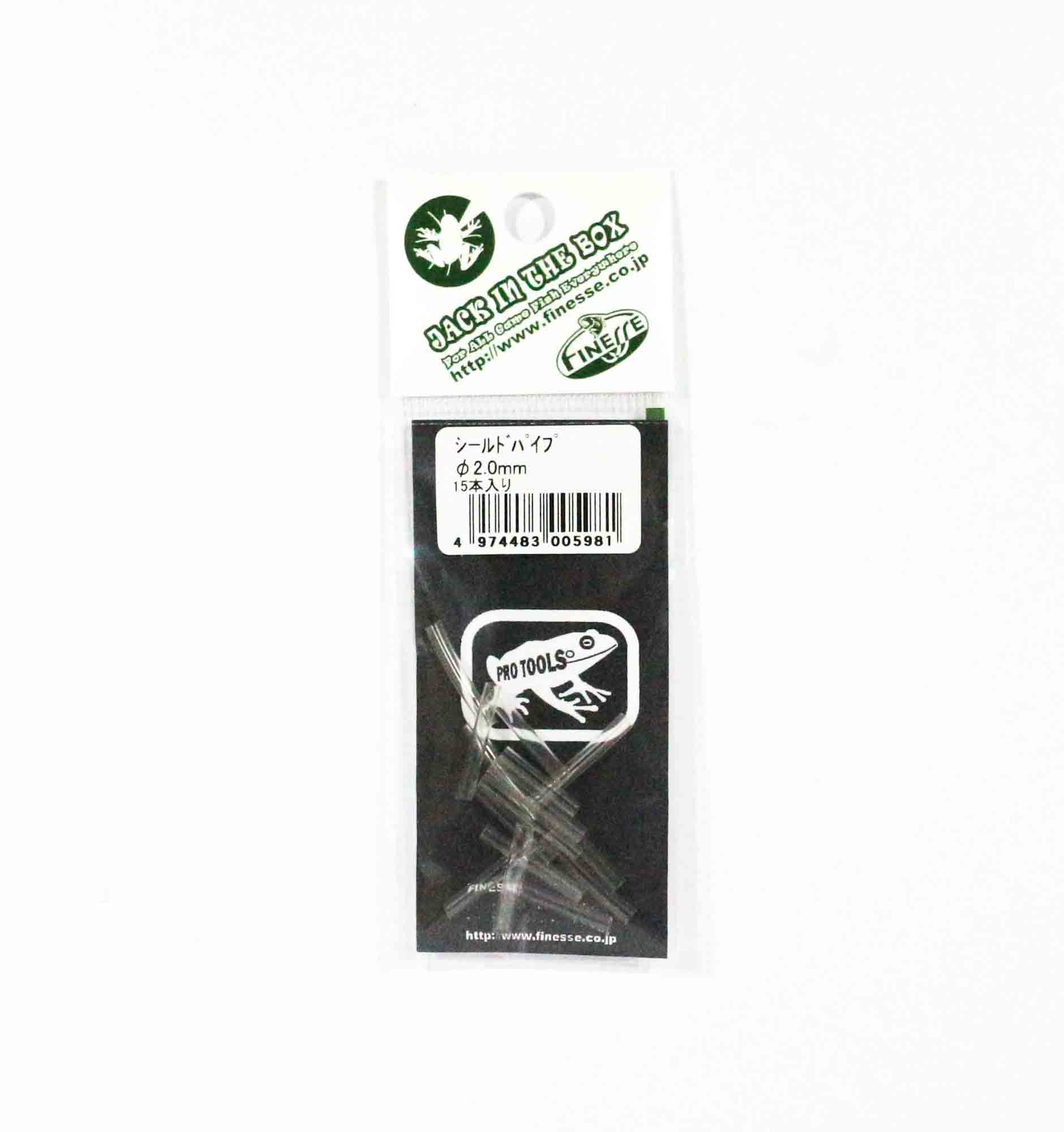 Finesse JIB Pro Tools Shield Pipe For Frog Game 2mm (5981)