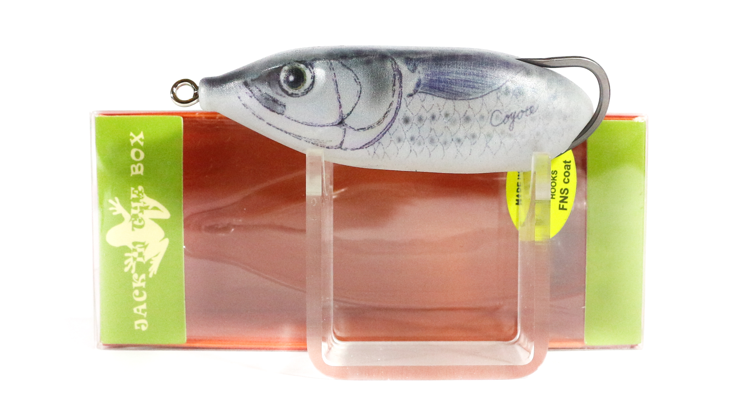 Finesse Tank Coyote Soft Plastic Floating Lure J Striper (8783)