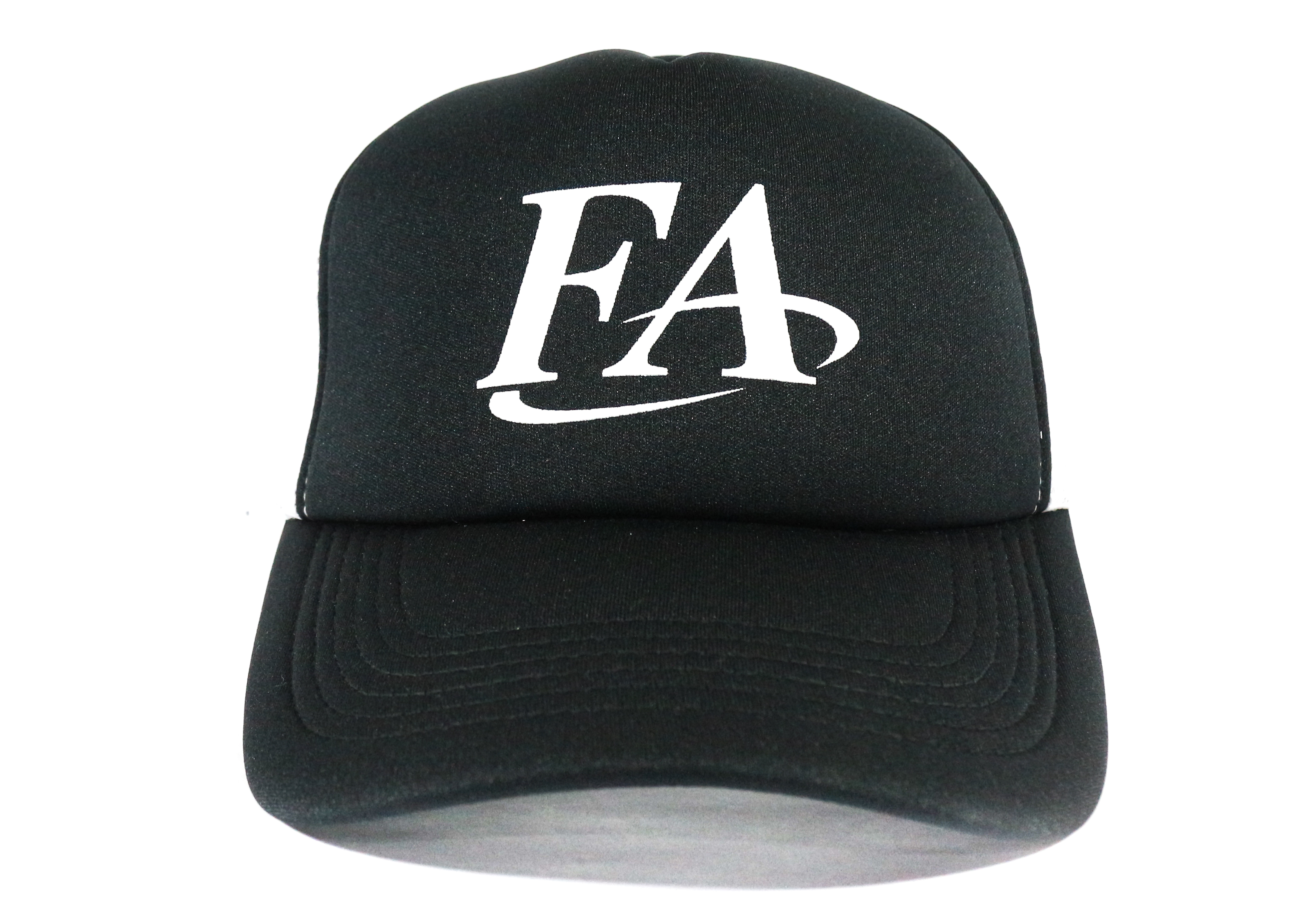 Fish Arrow Cap Mesh FA Logo Black/White (7767)