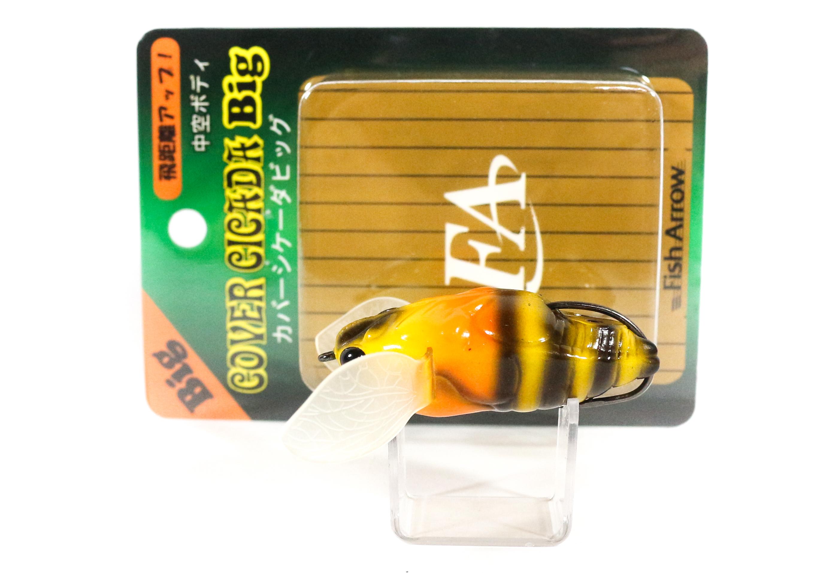 Fish Arrow Soft Lure Cover Cicada Big 10 gram 55mm #11 (7606)