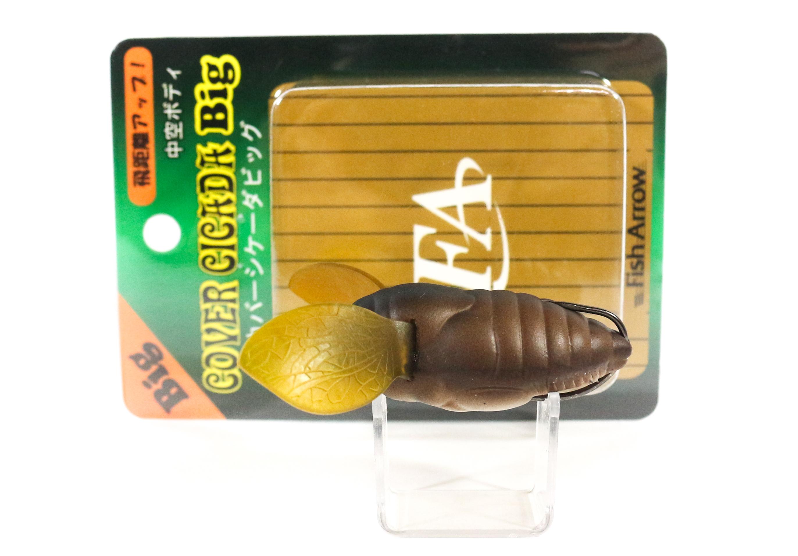 Fish Arrow Soft Lure Cover Cicada Big 10 gram 55mm #13 (7620)