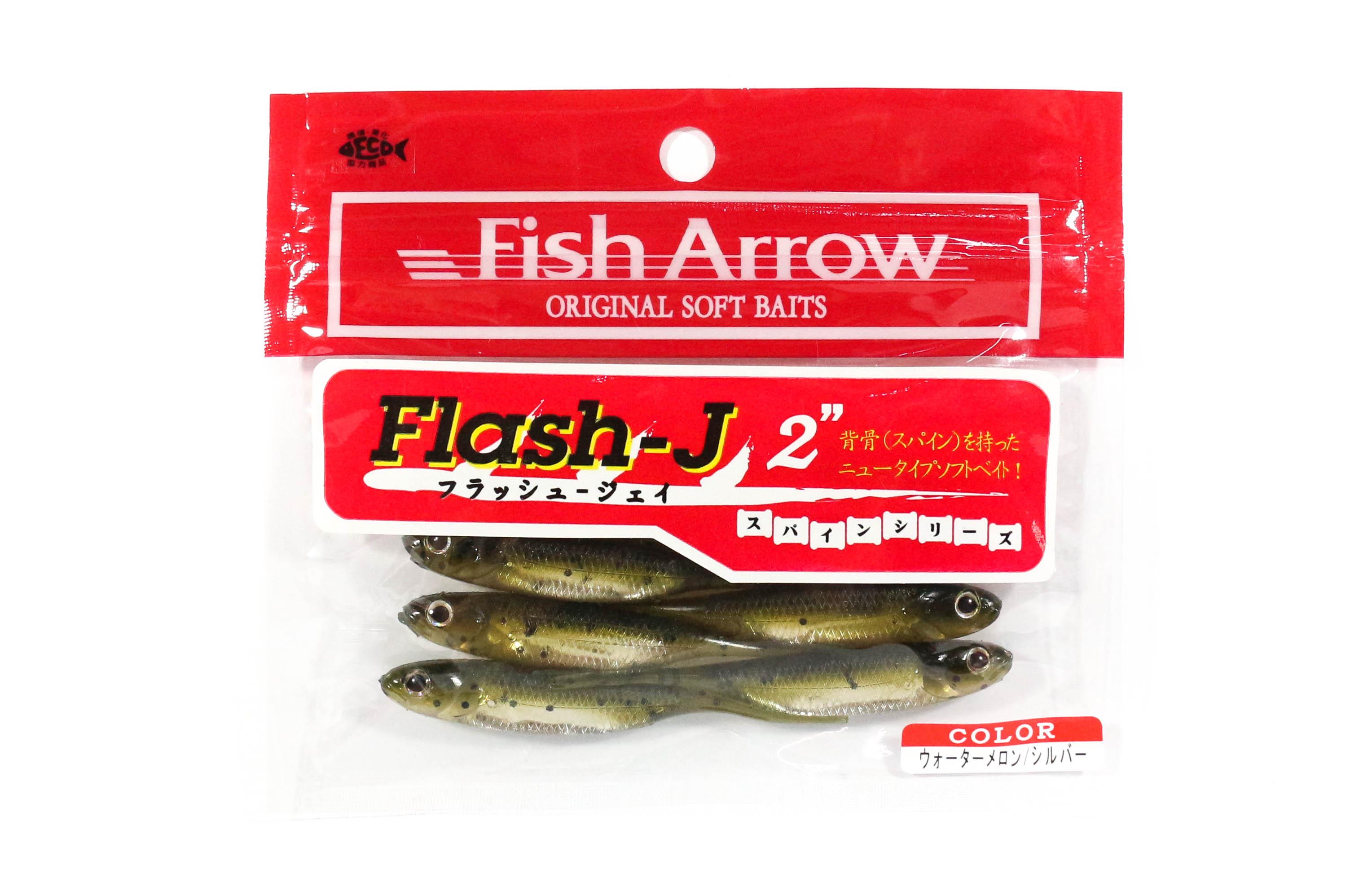 "FISH ARROW Finesse Soft Bait Lure FLASH-J 2"""