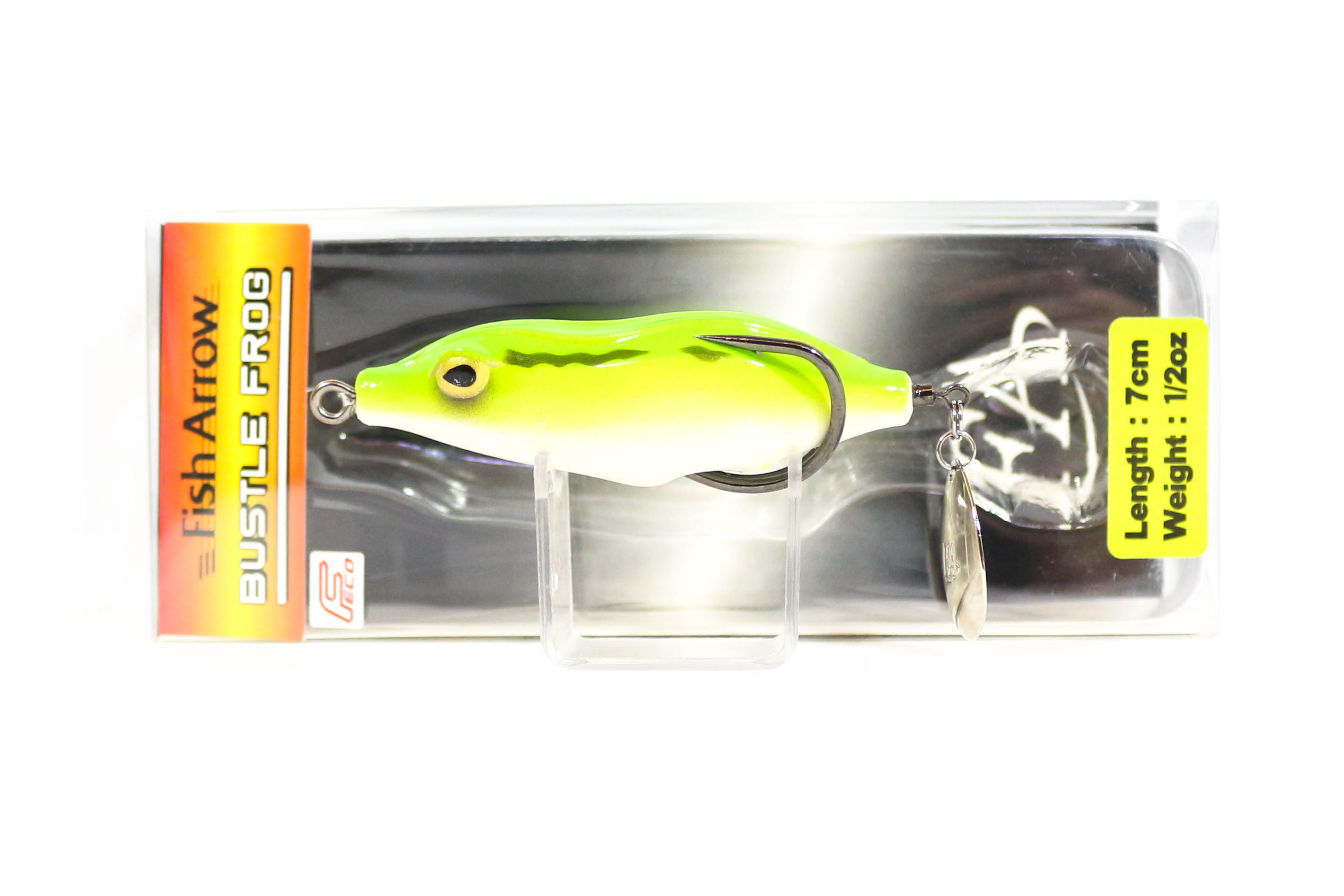 Fish Arrow Bustle Frog 7 cm 1/2 oz Soft Plastic Floating Lure 01 (4217)