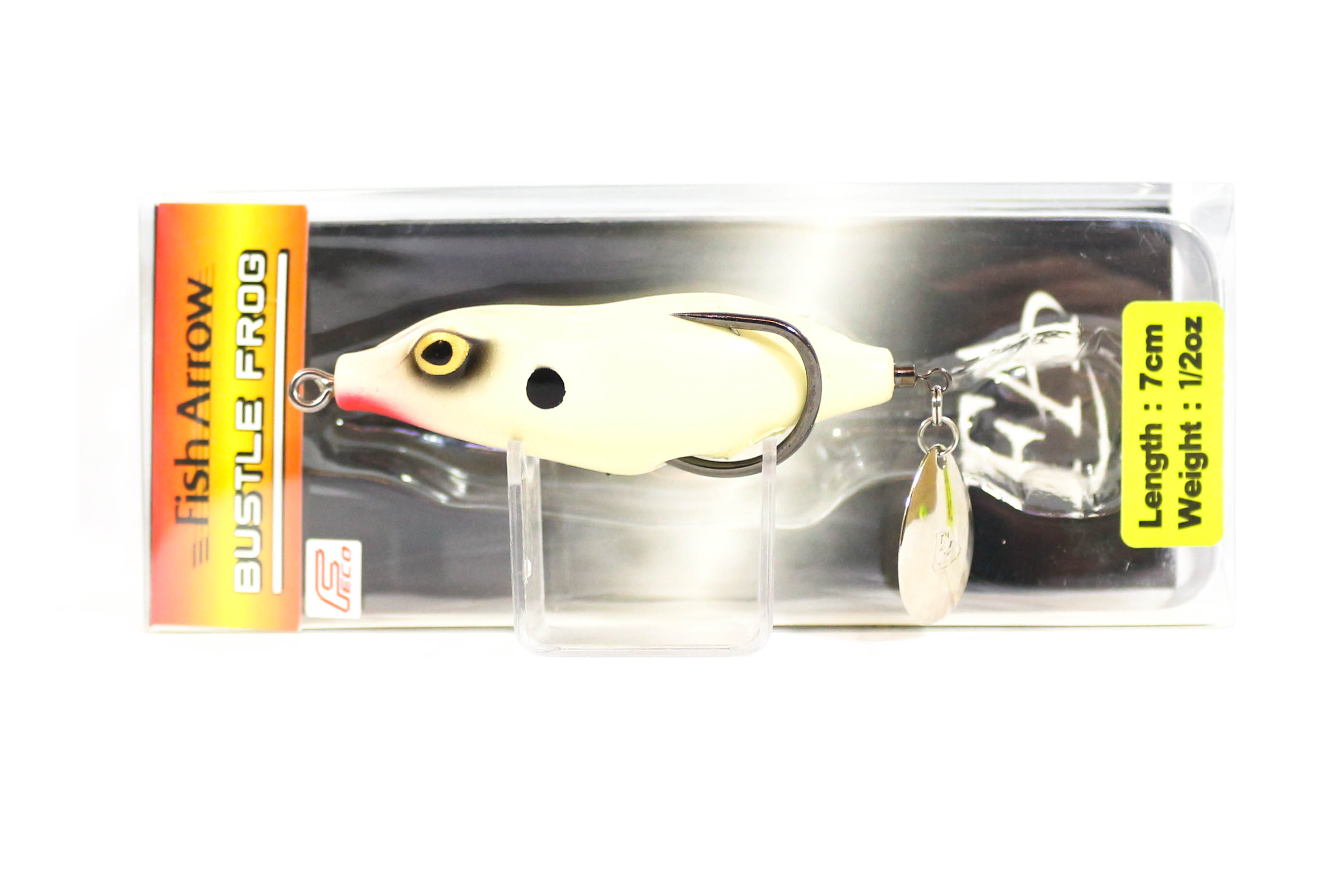 Fish Arrow Bustle Frog 7 cm 1/2 oz Soft Plastic Floating Lure 05 (4255)