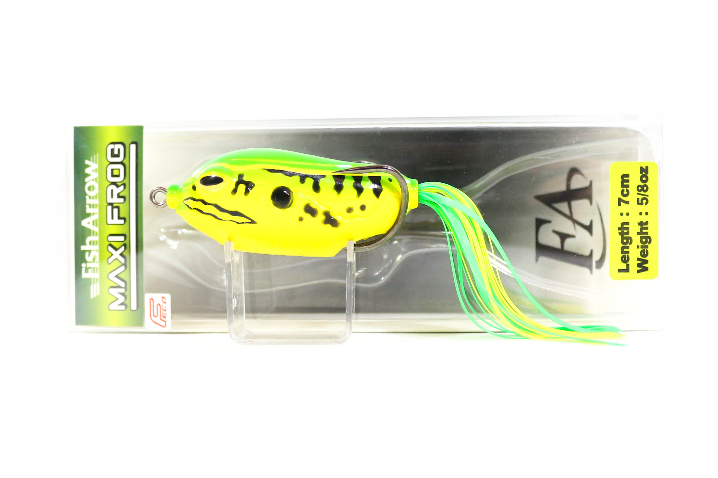 Fish Arrow Maxi Frog 7 cm 5/8 oz Soft Plastic Floating Lure 01 (4156)
