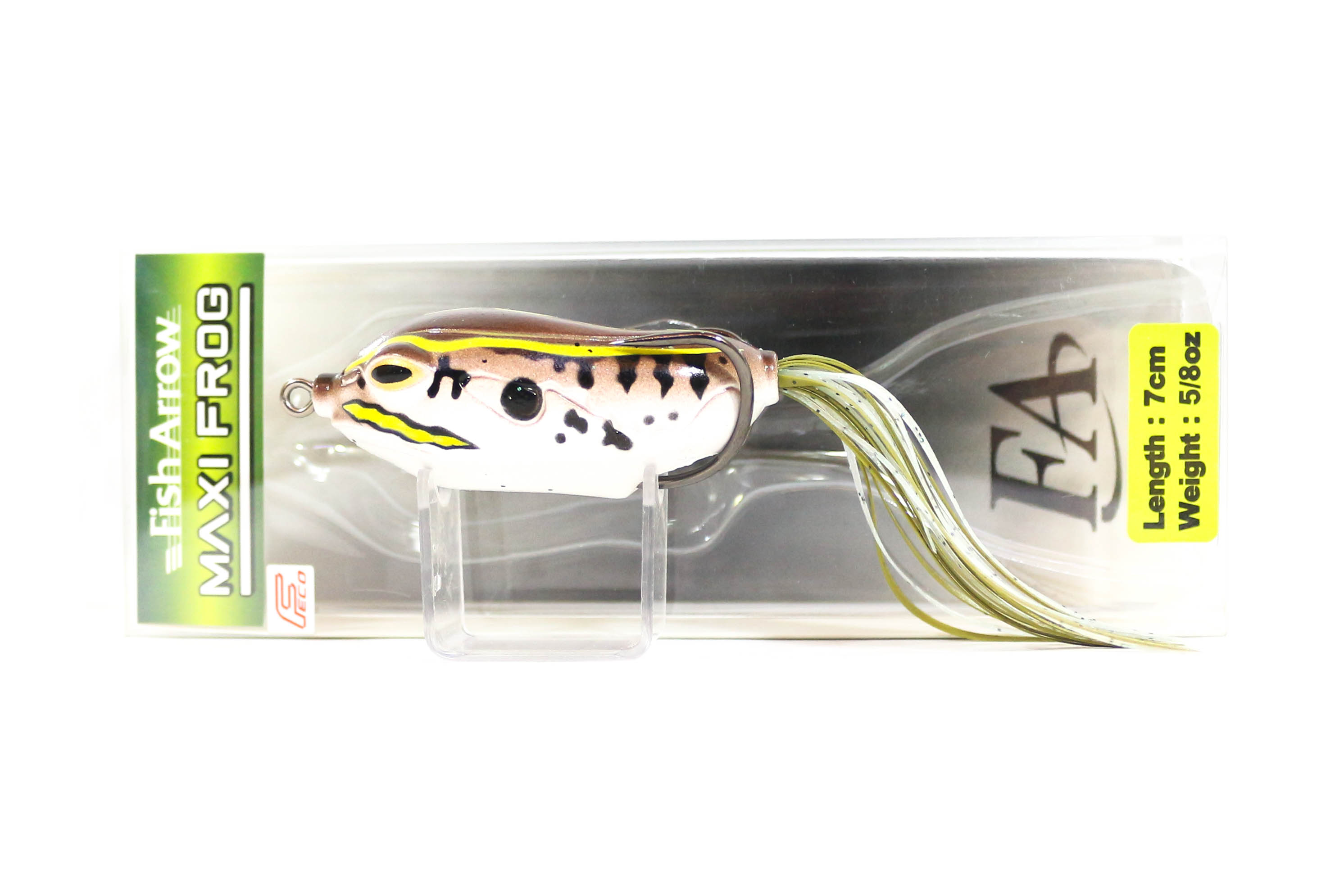 Fish Arrow Maxi Frog 7 cm 5/8 oz Soft Plastic Floating Lure 02 (4163)