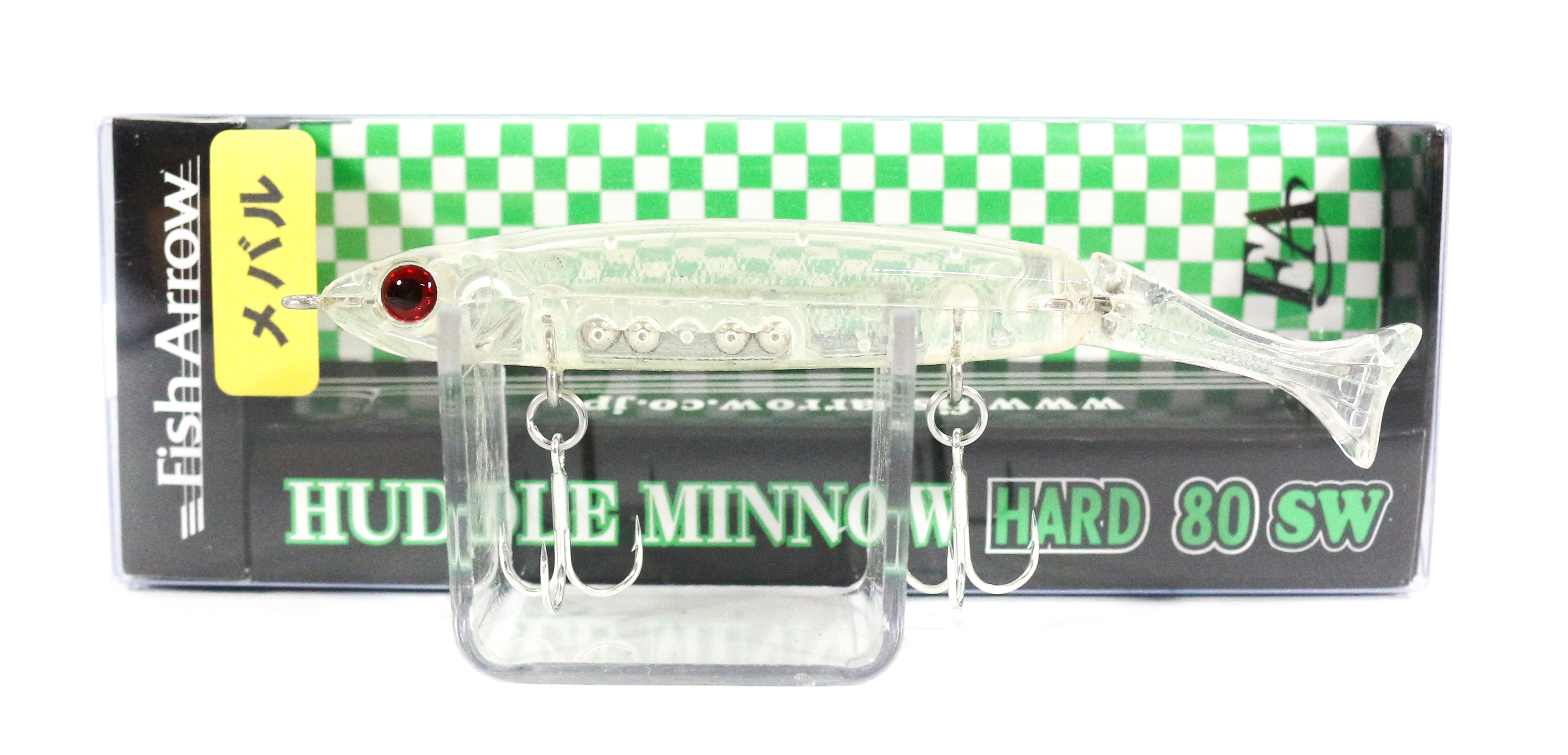 Fish Arrow Huddle Minnow Hard 80 SW Sinking Lure #M01 (0110)