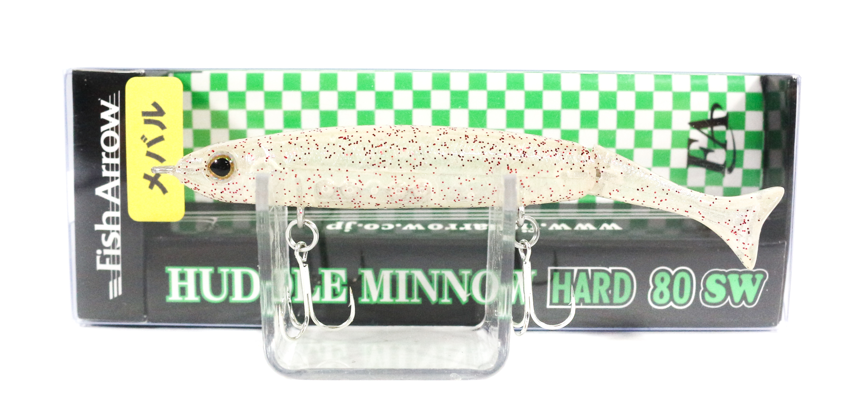 Fish Arrow Huddle Minnow Hard 80 SW Sinking Lure #M02 (0127)