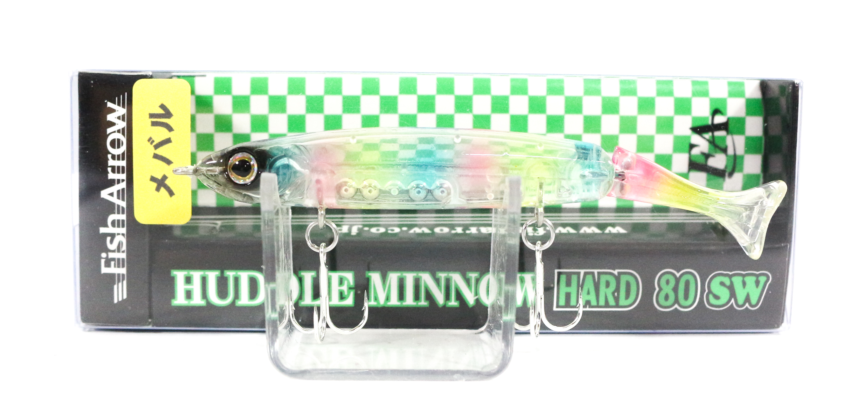 Fish Arrow Huddle Minnow Hard 80 SW Sinking Lure #M03 (0134)