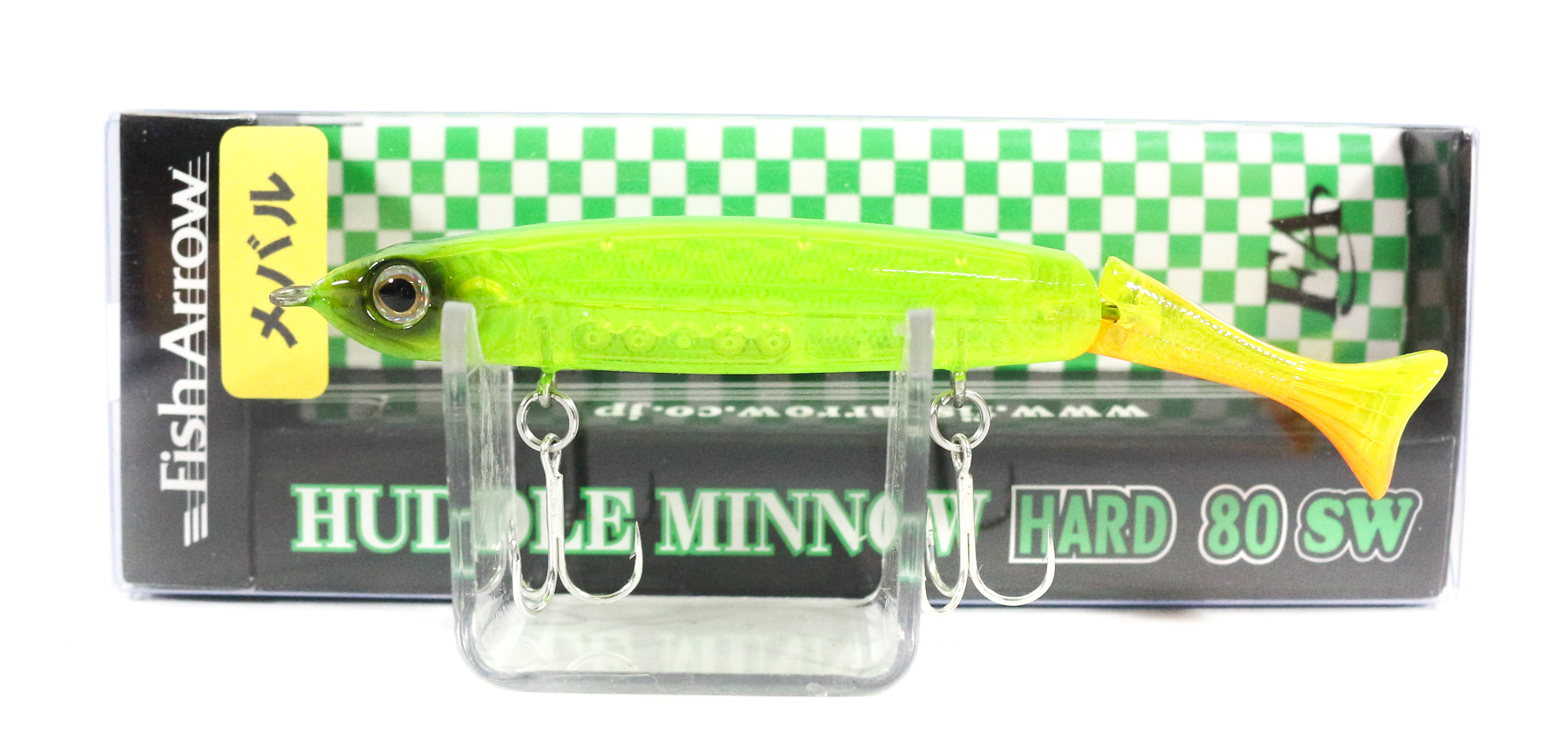 Fish Arrow Huddle Minnow Hard 80 SW Sinking Lure #M04 (0141)