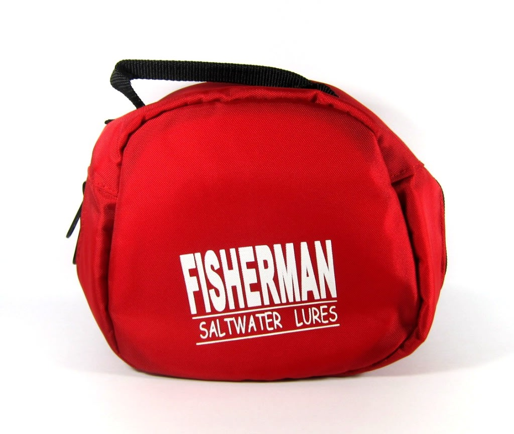 Fisherman Reel Case for Daiwa Saltiga Shimano Stella Red L (0053)