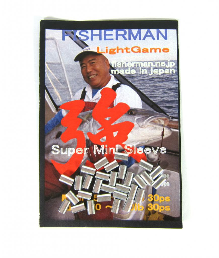 Fisherman Crimping System Mini Aluminium Sleeves Size S (0212)