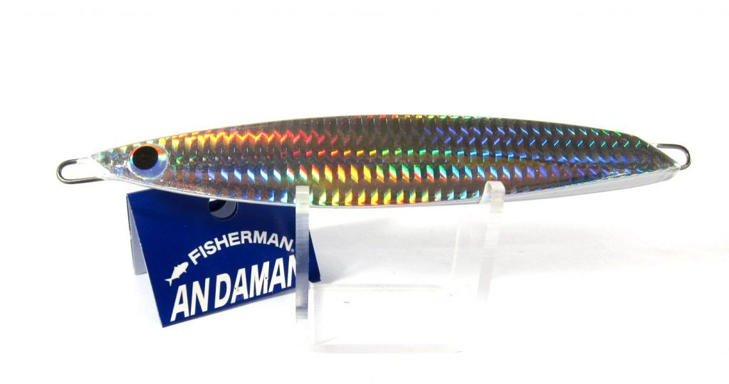 Fisherman Metal Jig Andaman 310 grams Silver (0097)