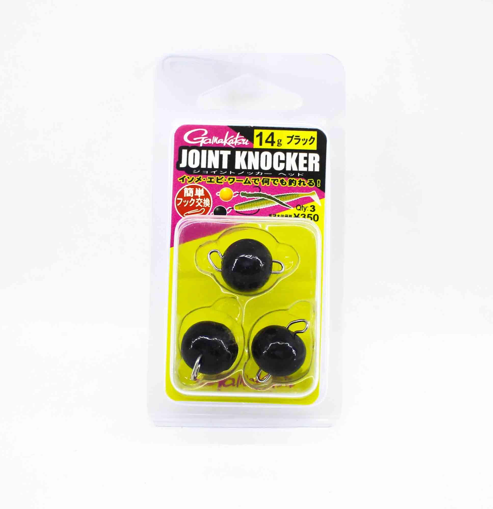 Gamakatsu 19255 Joint Knocker Jig Head 14 grams , 3 per pack (2577)