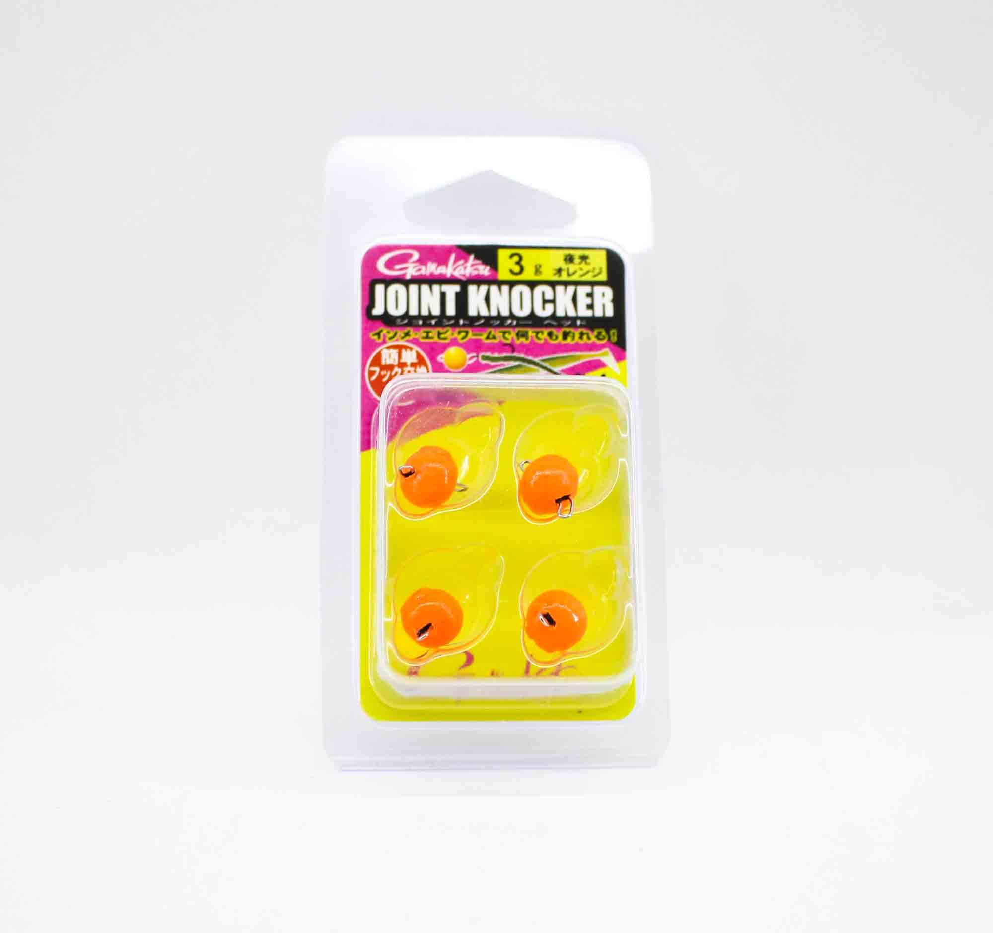 Gamakatsu 19256 Joint Knocker Jig Head 3 grams , 4 per pack (2614)