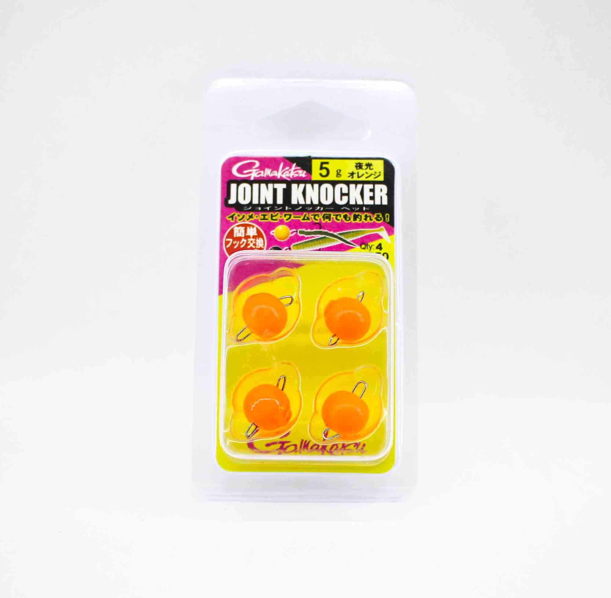 Gamakatsu 19256 Joint Knocker Jig Head 5 grams , 4 per pack (2621)