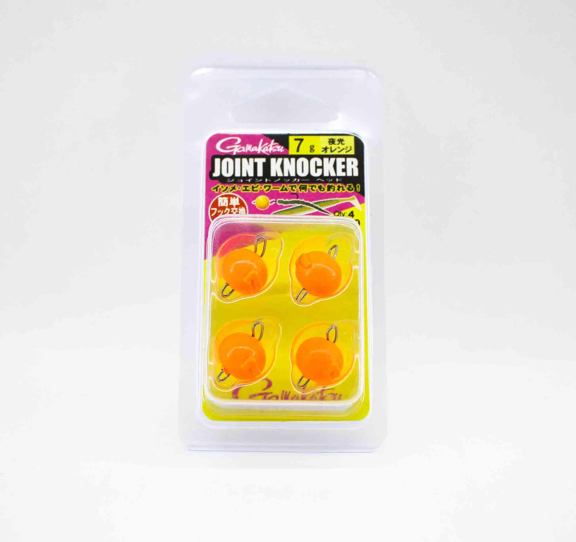 Gamakatsu 19256 Joint Knocker Jig Head 7 grams , 4 per pack (2638)