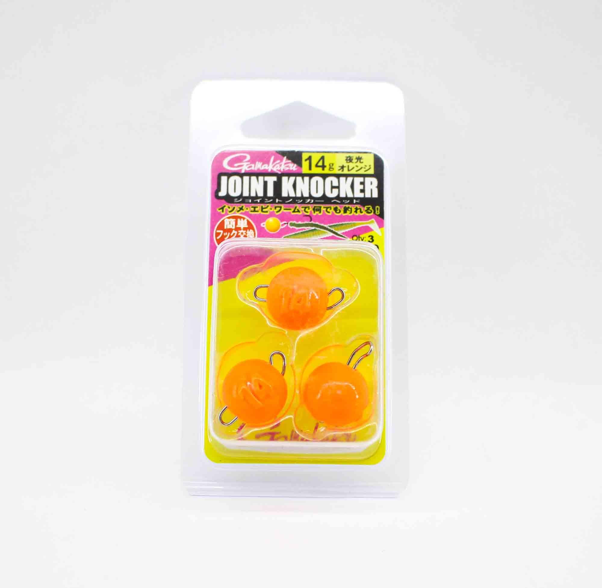 Gamakatsu 19256 Joint Knocker Jig Head 14 grams , 3 per pack (2652)