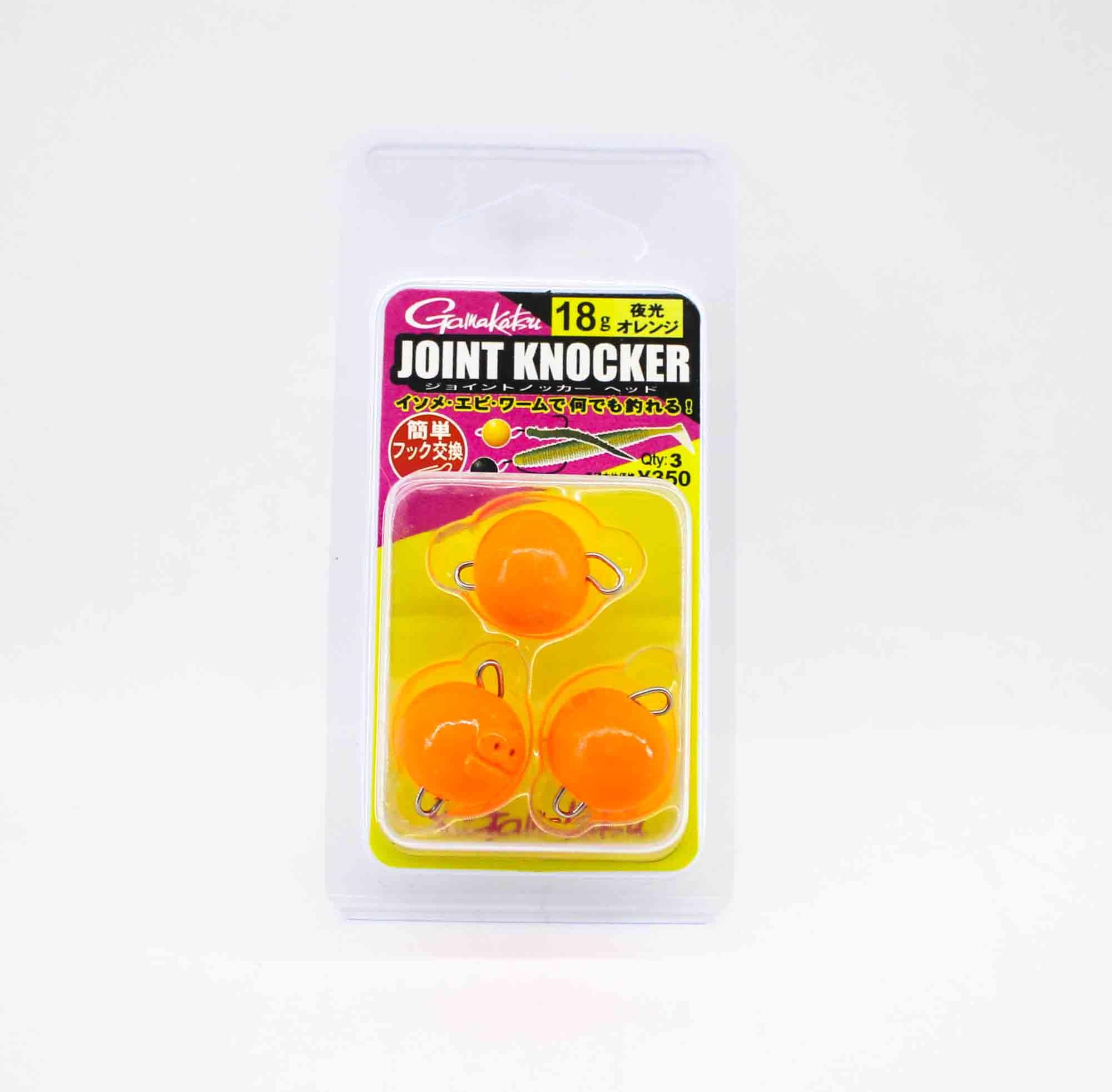 Gamakatsu 19256 Joint Knocker Jig Head 18 grams , 3 per pack (2669)