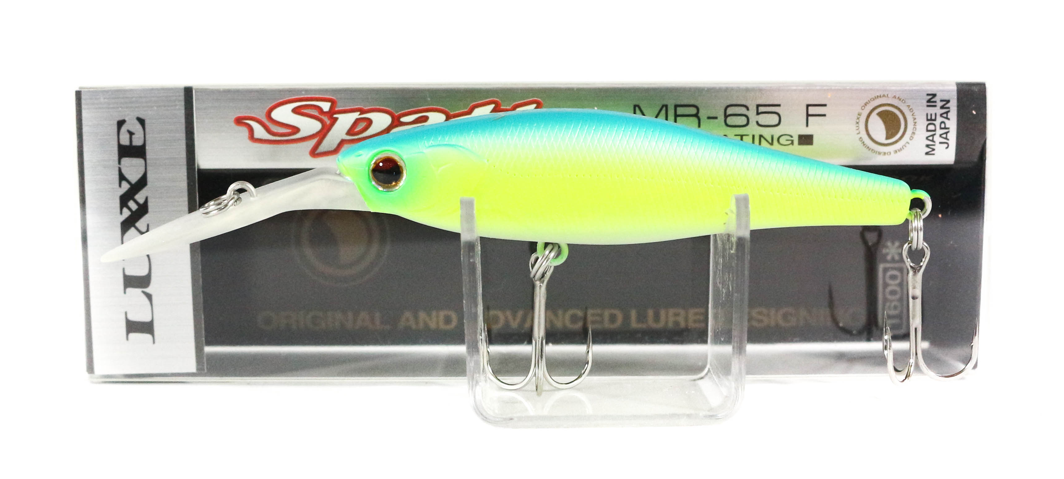 Sale Gamakatsu Spatt MR 65SP Suspend Lure 4 Blue Back Chart (1841)