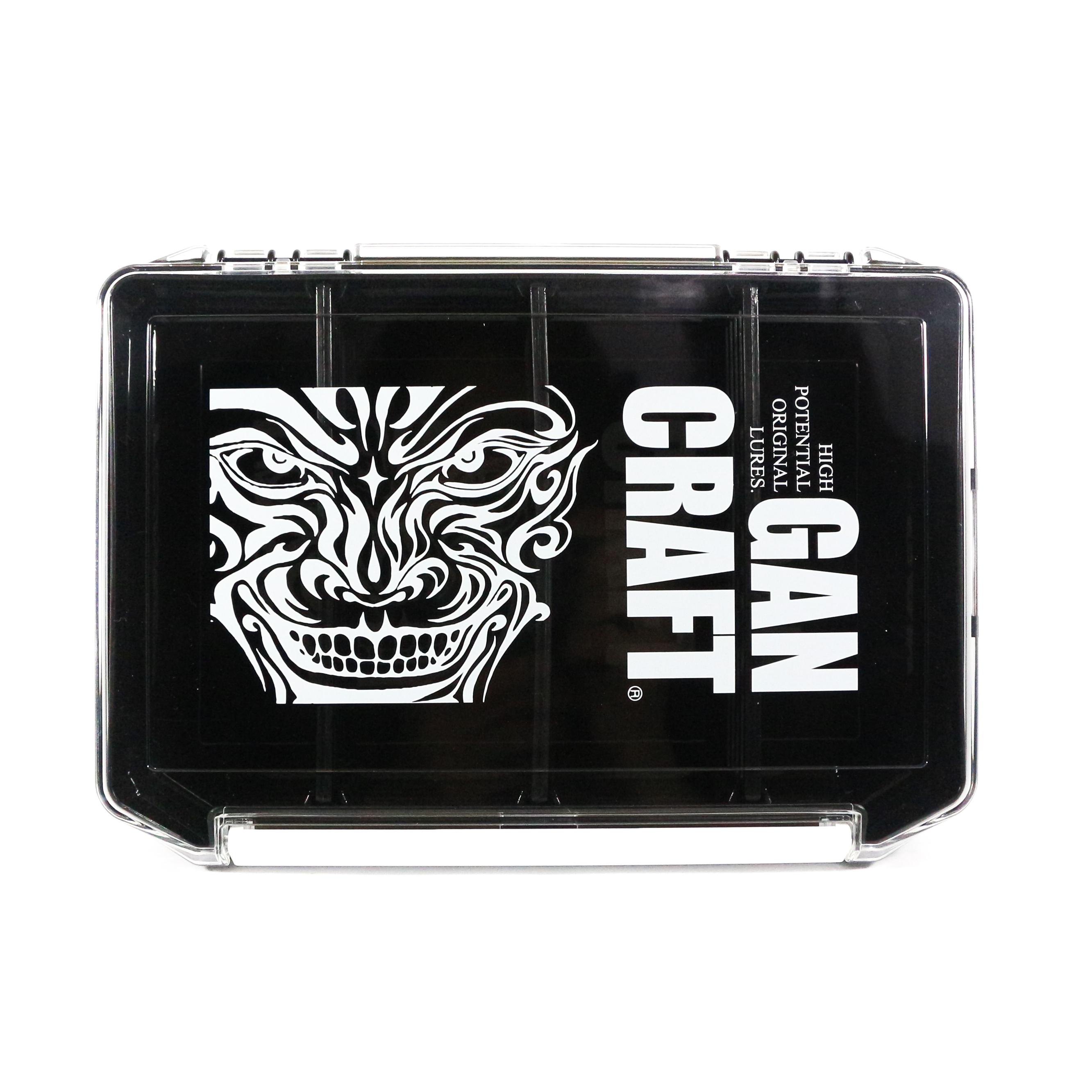 Gan Craft Tackle Box Shadow Face Multi 145 x 205 x 40 mm Black Clear 02 (8557)