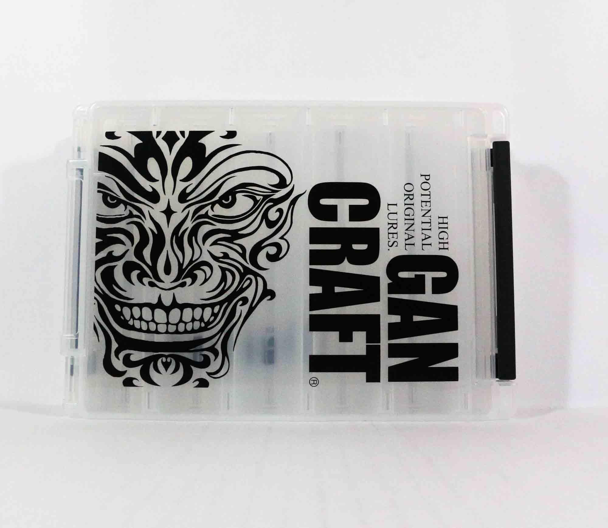 Gan Craft Tackle Box Reversible M 205 x 145 x 40 mm Clear (8690)