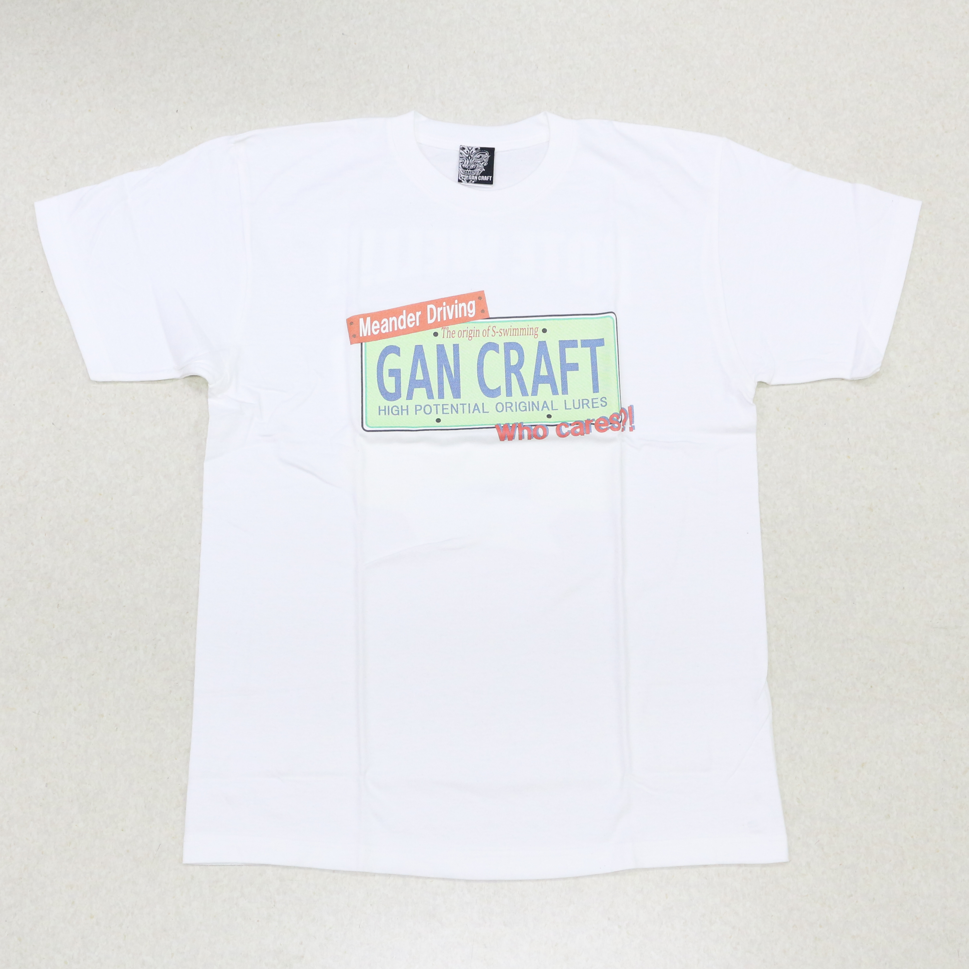 Gan Craft T Shirt Short Sleeve Sign Tee Size XL White (2609)