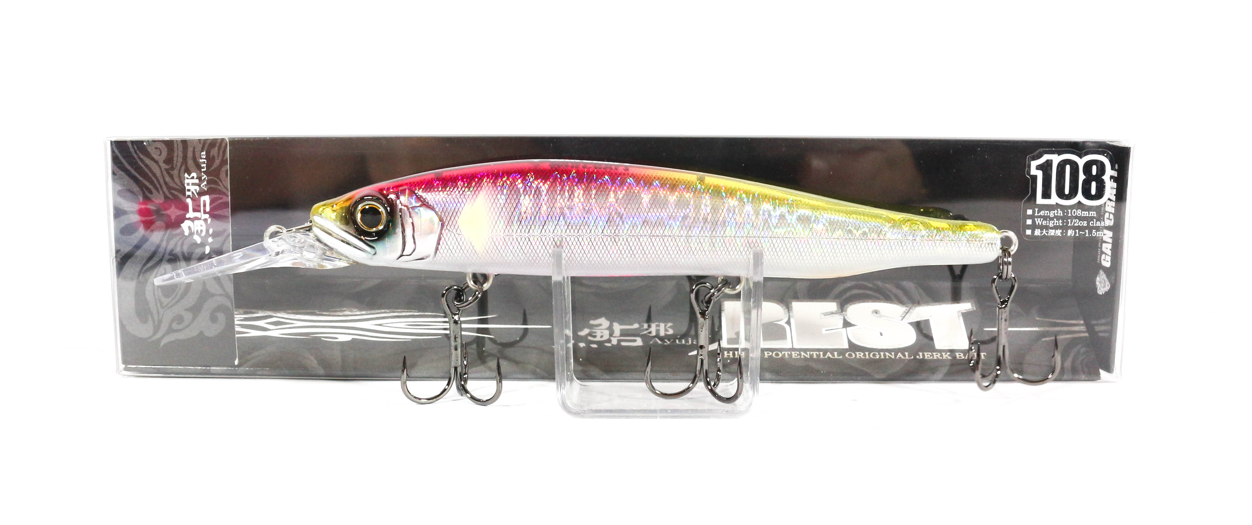 Gan Craft Ayuja Rest 108 Slow Floating Lure 10 (8022)