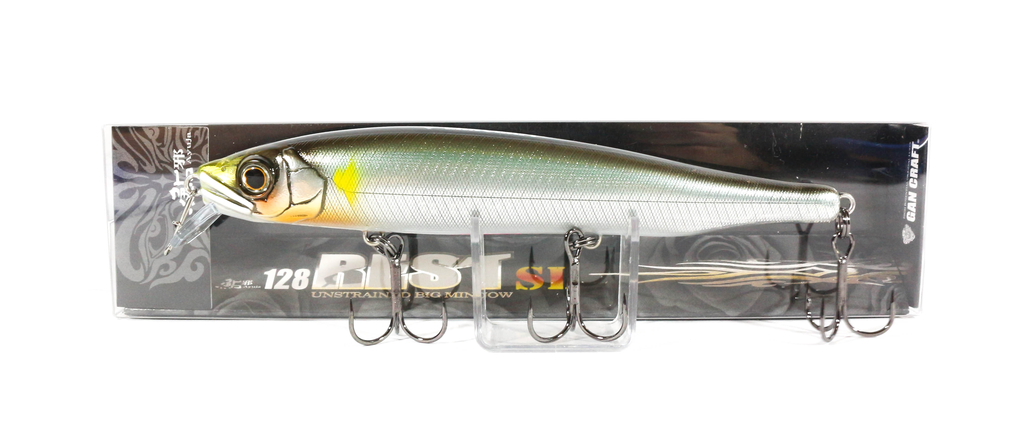 Gan Craft Ayuja Rest 128 SL Slow Floating Lure 01 (0032)