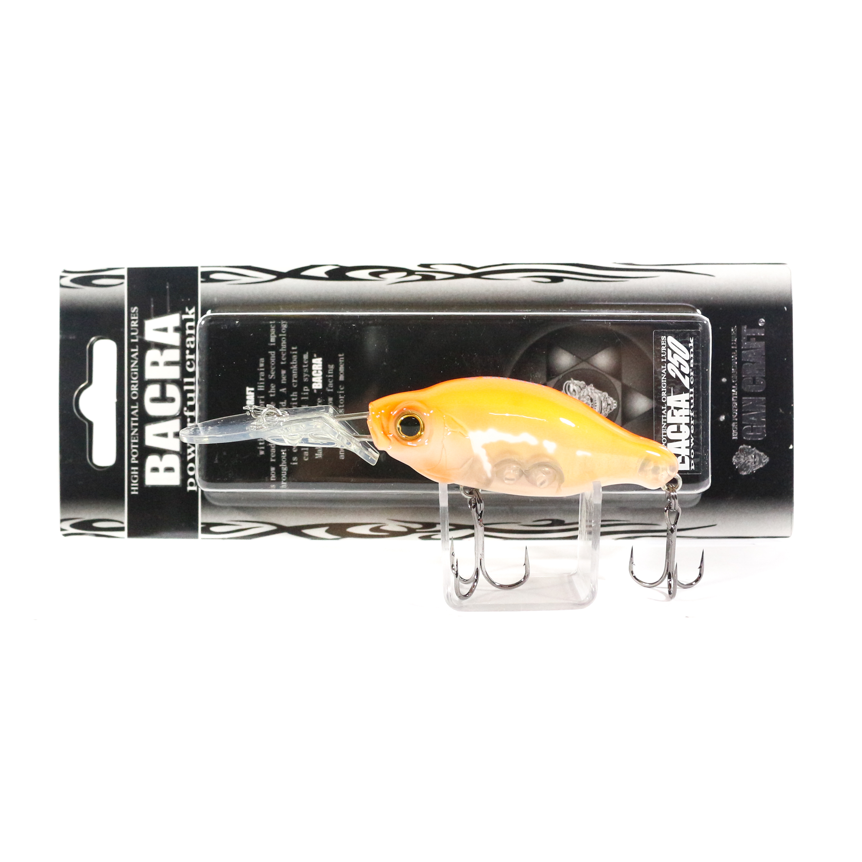 Gan Craft Bacra 250 Diving Crank Bait Floating Lure 04 (6348)