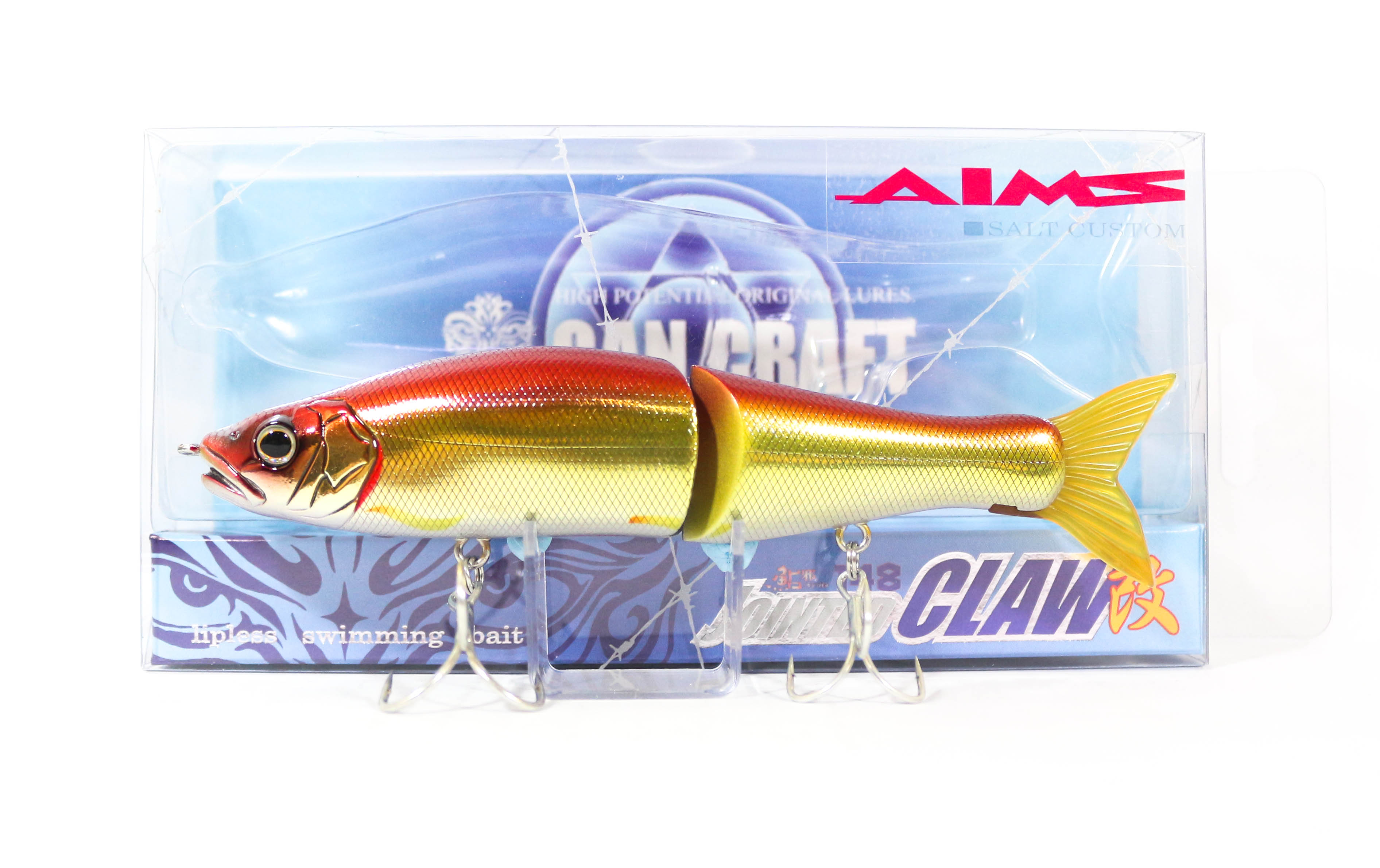 Gan Craft Jointed Claw 148S Salt Floating Jointed Lure AS-05 (0052)