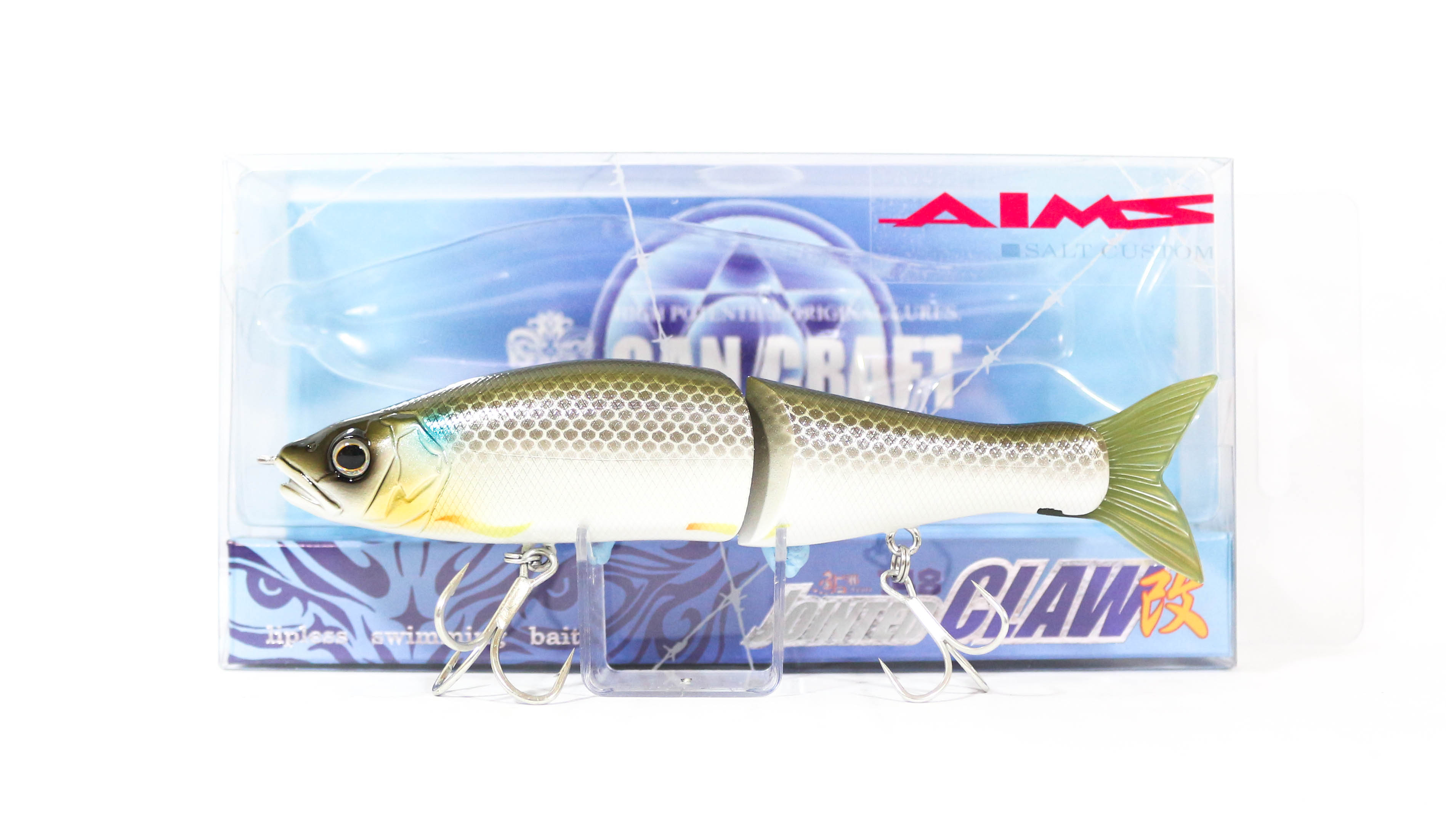 Gan Craft Jointed Claw 148S Salt Floating Jointed Lure AS-07 (0076)