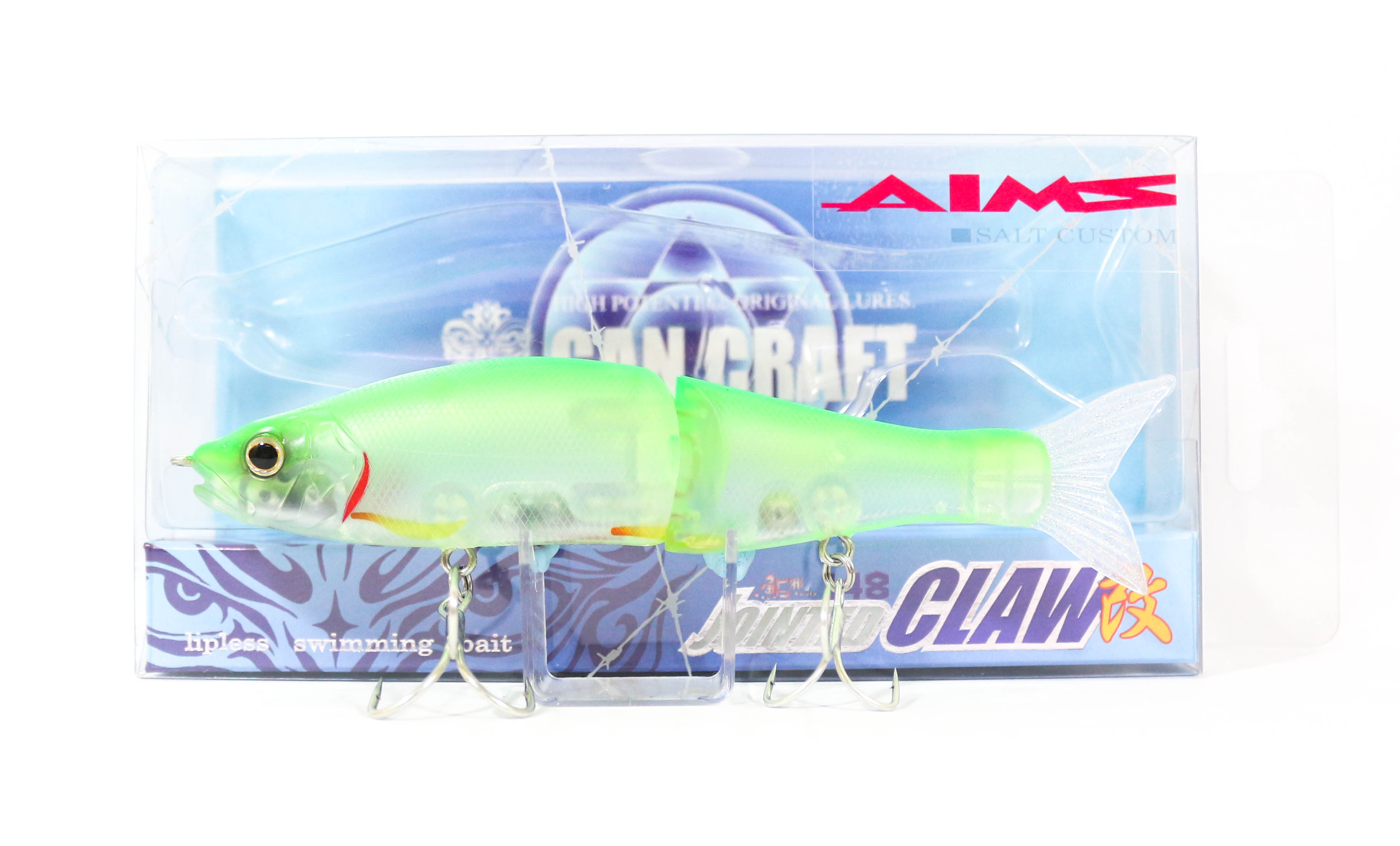 Gan Craft Jointed Claw 148S Salt Floating Jointed Lure AS-13 (0137)
