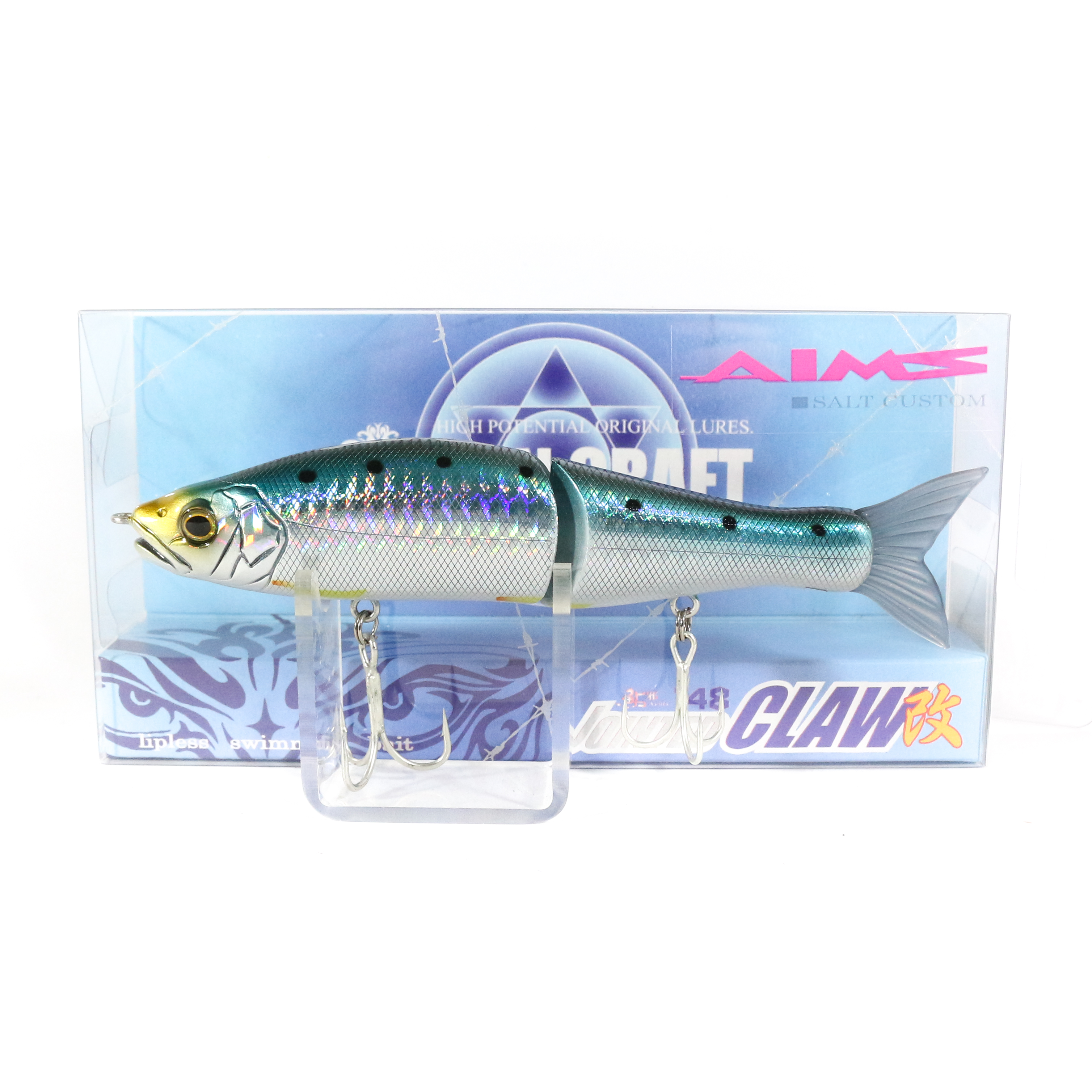 Gan Craft Jointed Claw 148S Salt Slow Sinking Jointed Lure AS-02 (0175)
