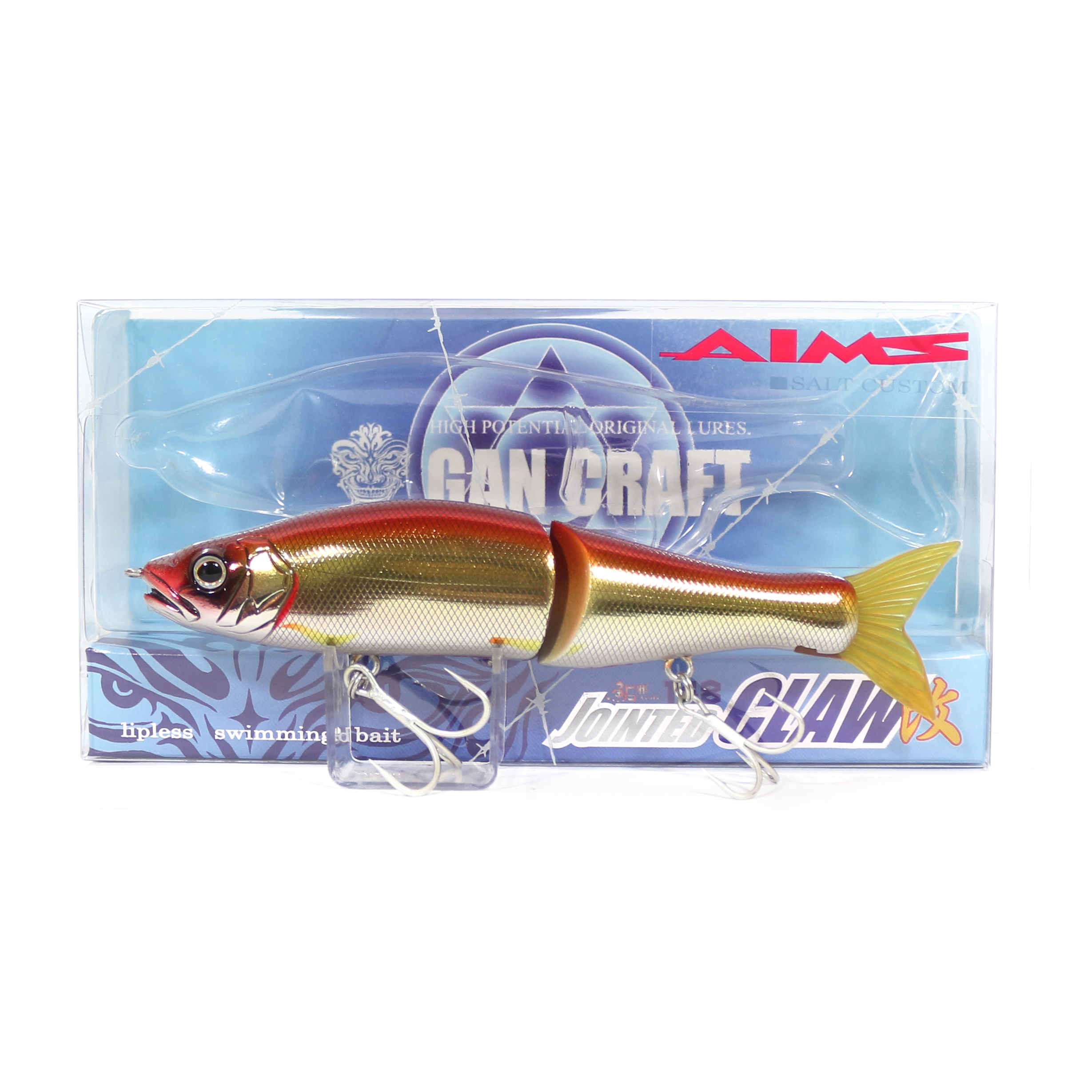 Gan Craft Jointed Claw 148S Salt Slow Sinking Jointed Lure  AS-05 (0205)  tienda en linea