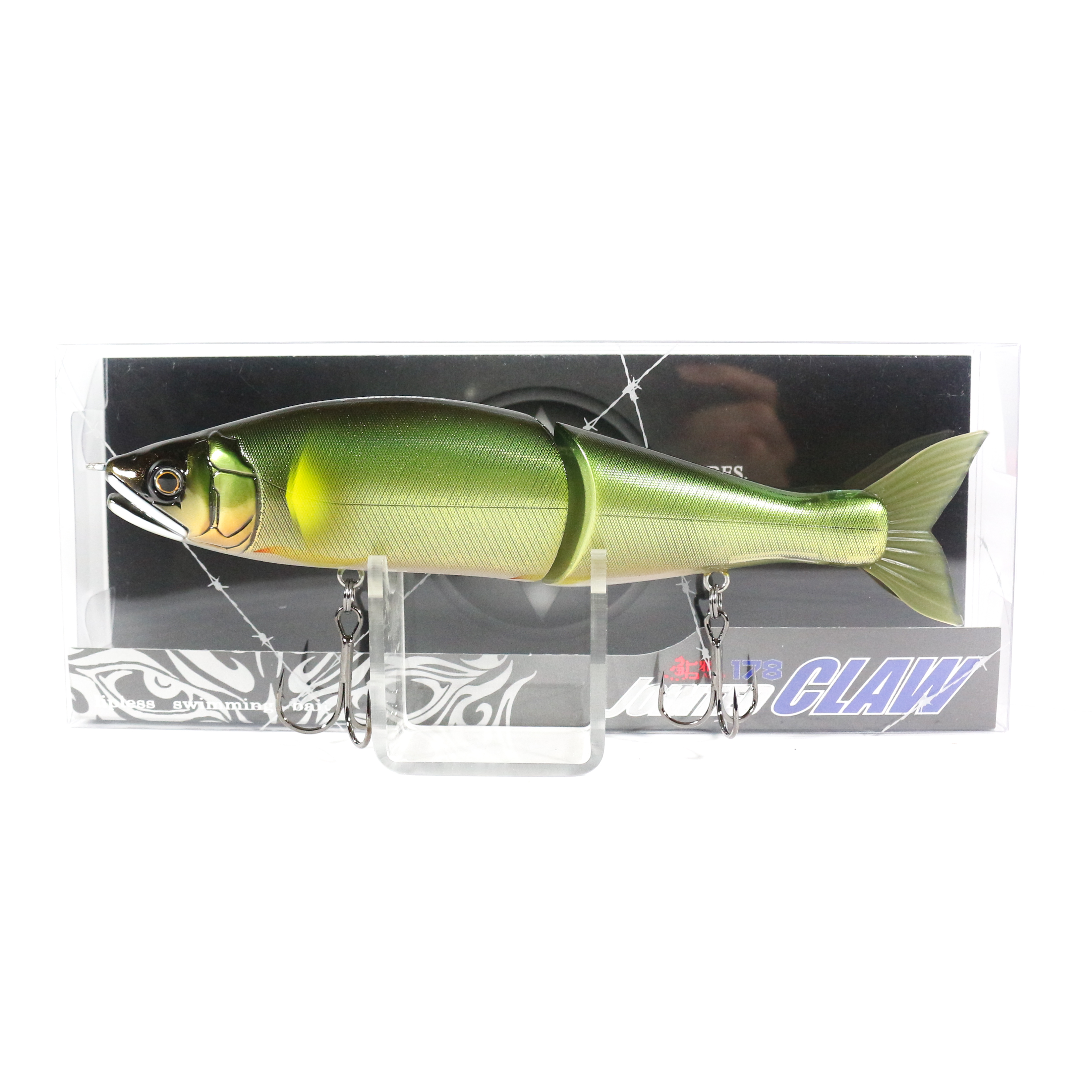 Gan Craft Jointed Claw 178 15-SS Slow Sinking Jointed Lure 16 (4697)