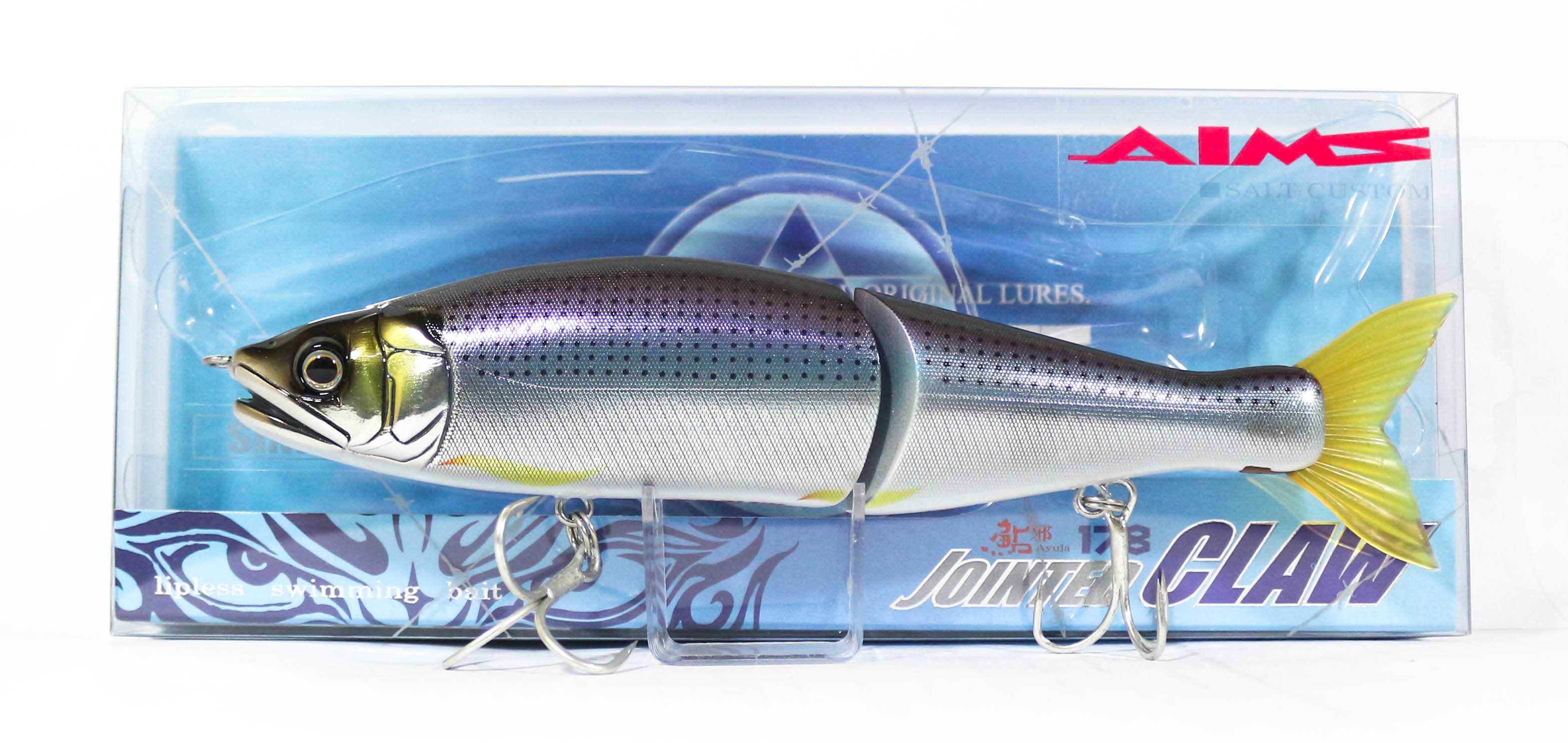 Gan Craft Jointed Claw 178 Salt Sinking Jointed Lure AS-01 (0465)