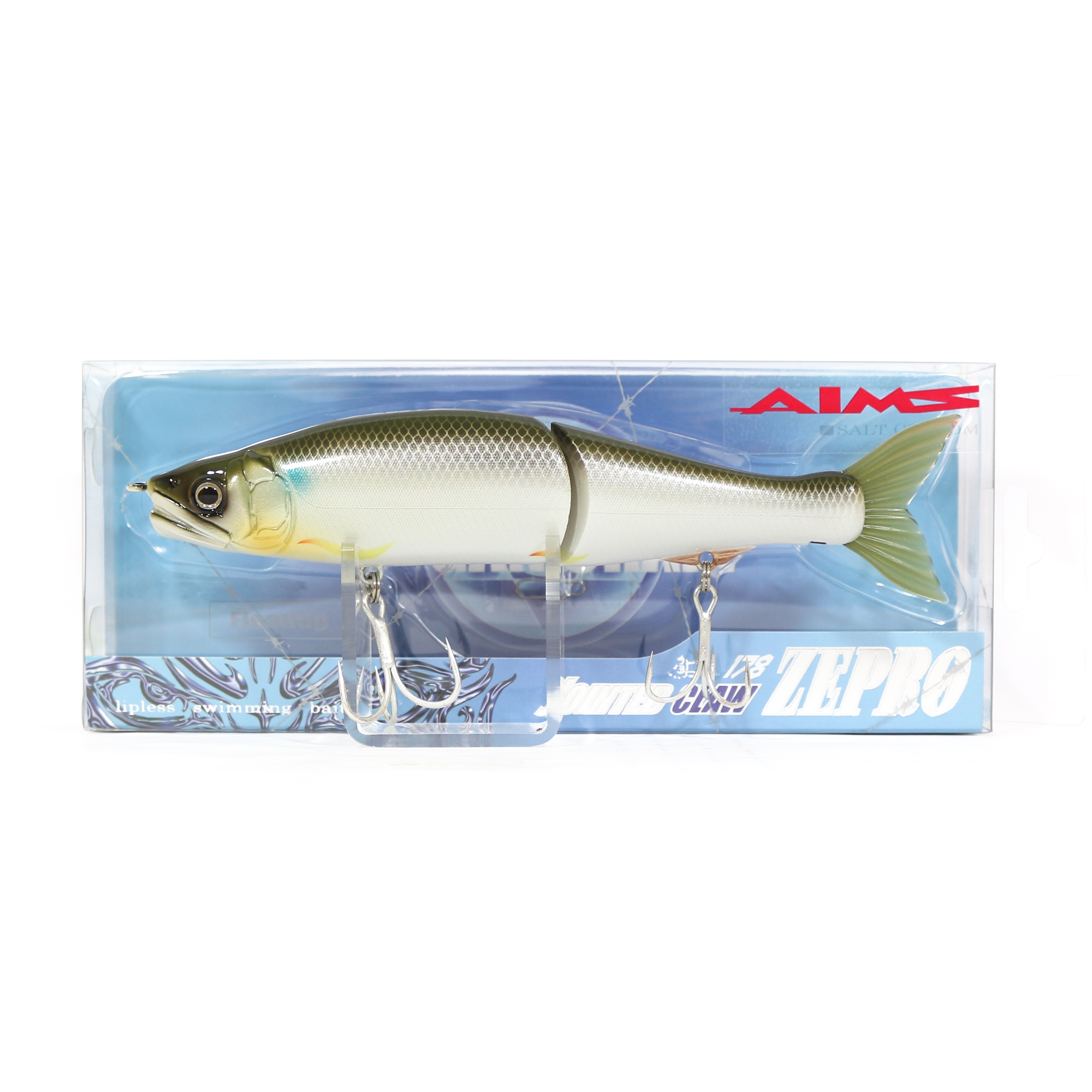 Gan Craft Jointed Claw 178 Zepro Neutral Suspend Jointed Lure AS-07 (0816)