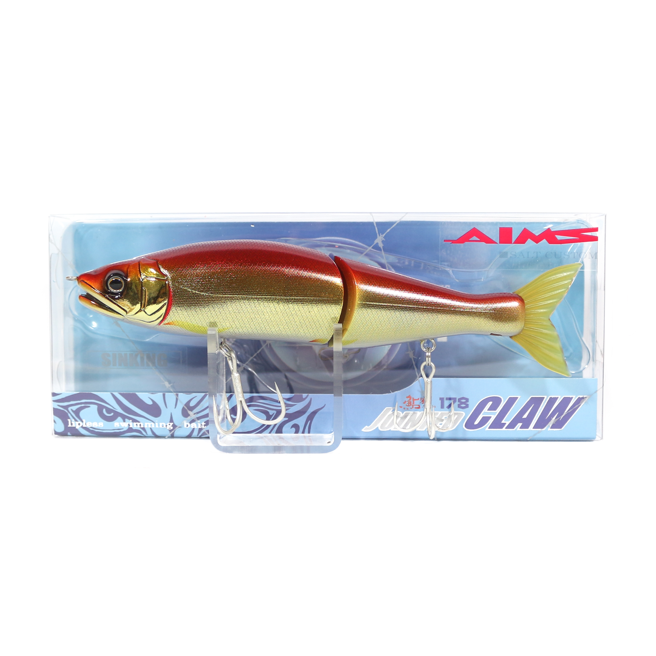 Gan Craft Jointed Claw 178 Sinking Jointed Lure AS-05 (0502)
