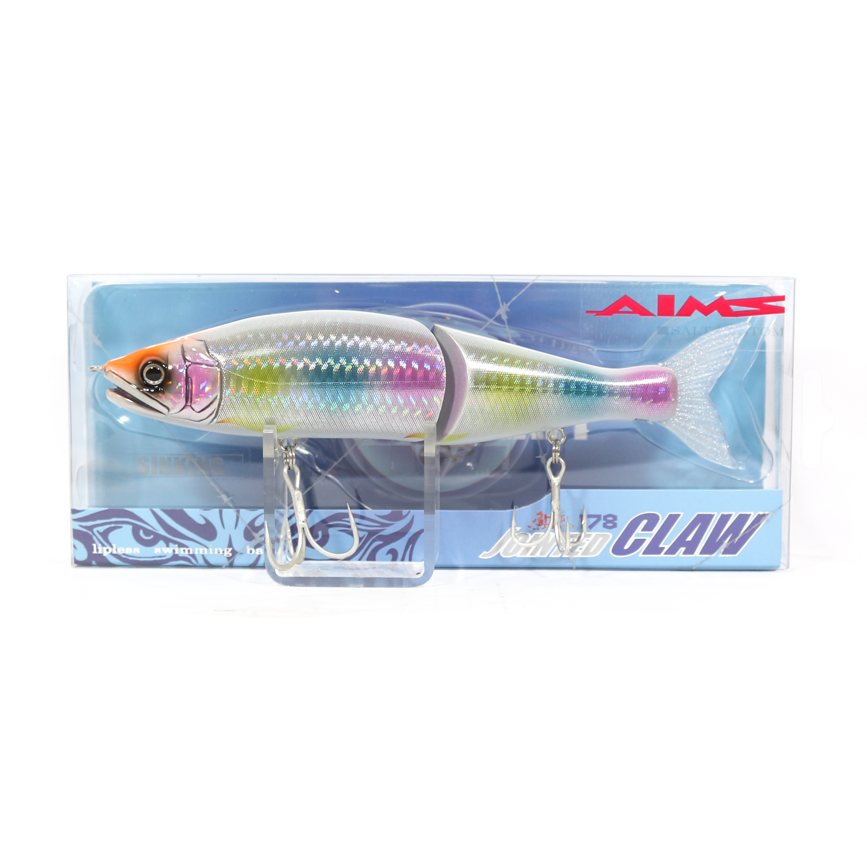 Gan Craft Jointed Claw 178 Sinking Jointed Lure AS-11 (0564)