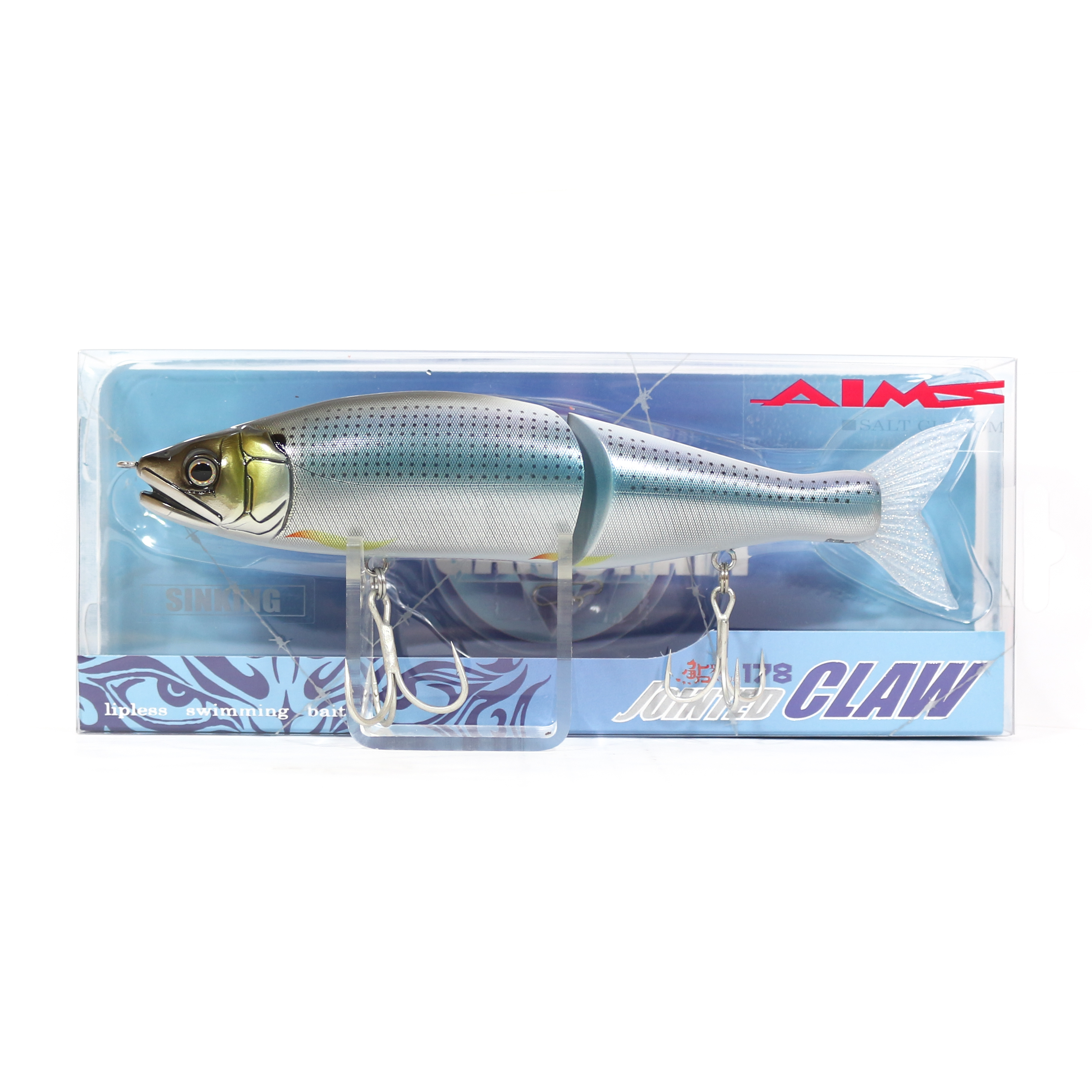Gan Craft Jointed Claw 178 Sinking Jointed Lure AS-15 (0601)