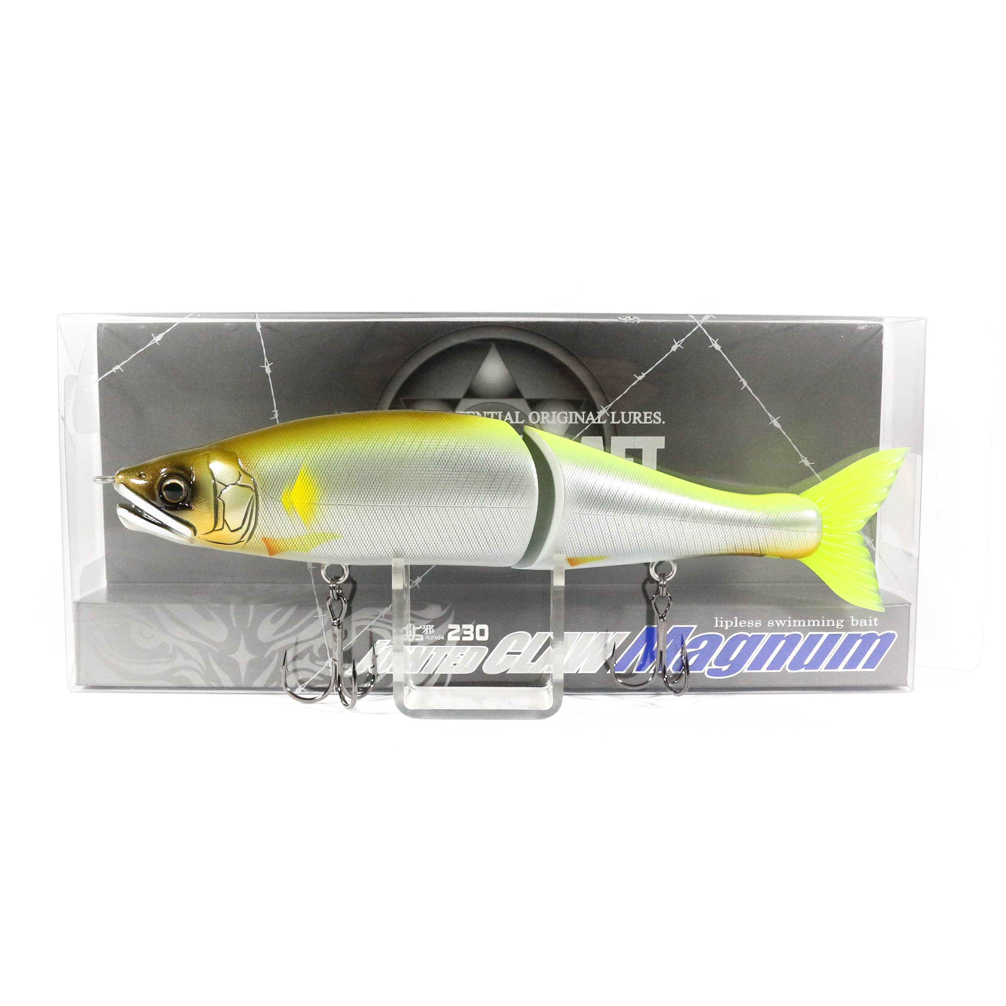 Gan Craft Jointed Claw 230 Magnum Sinking Jointed Lure 09 (8114)