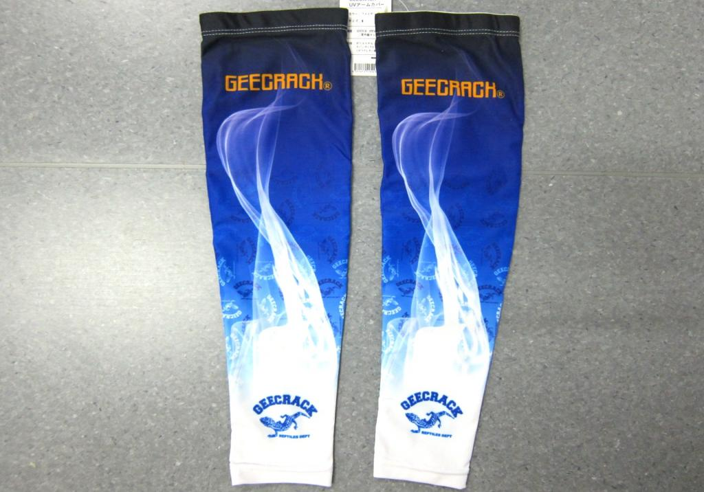 Sale Gee Crack Arm Socks UV Proof Size M Fire Blue (3923)