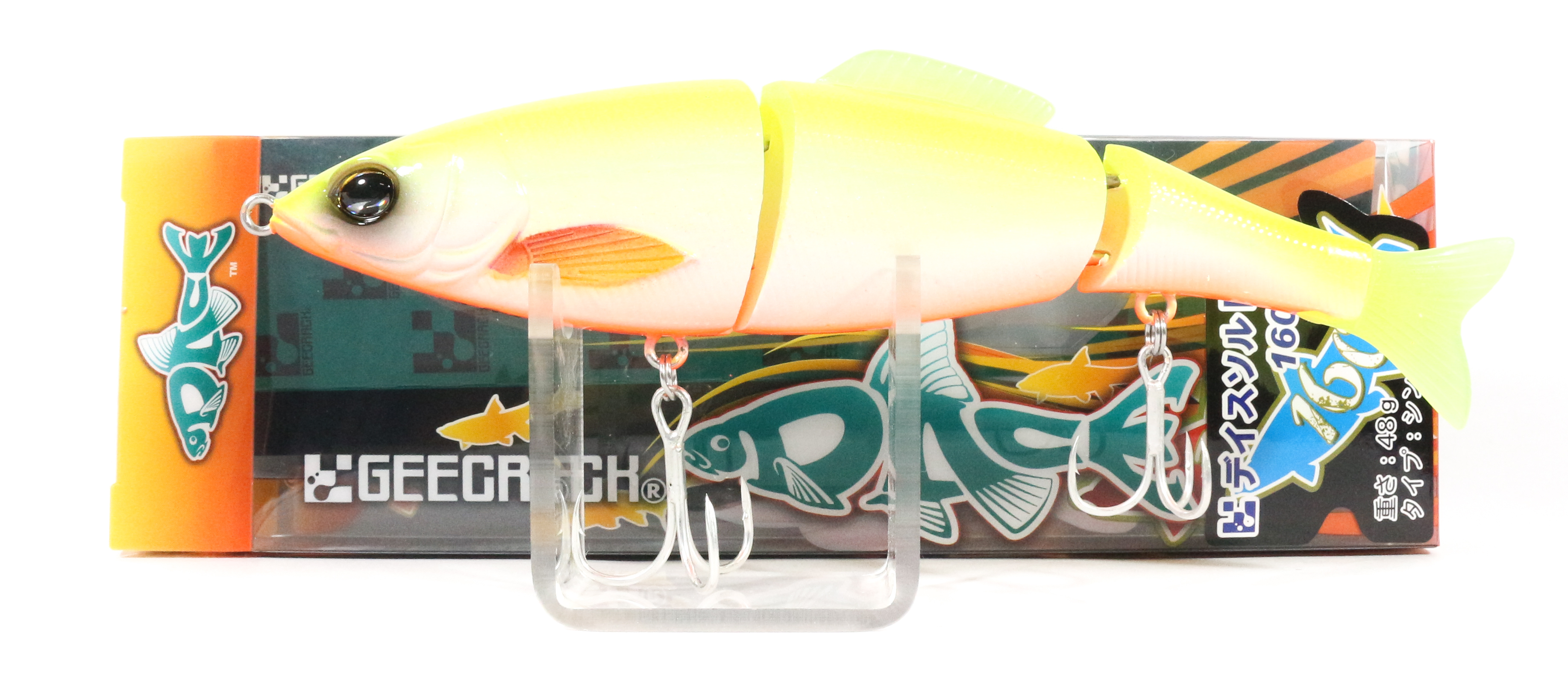 Sale Gee Crack Dace Salt 160S Jointed Sinking Lure 001 (7983)